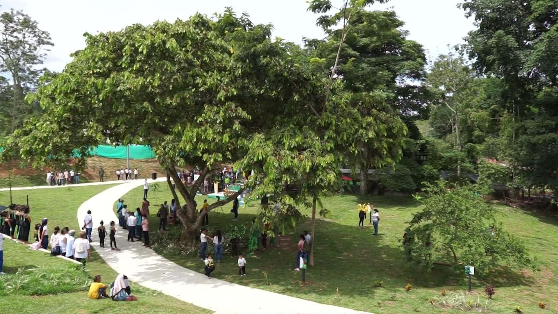 Parque lineal para la conservación de la naturaleza