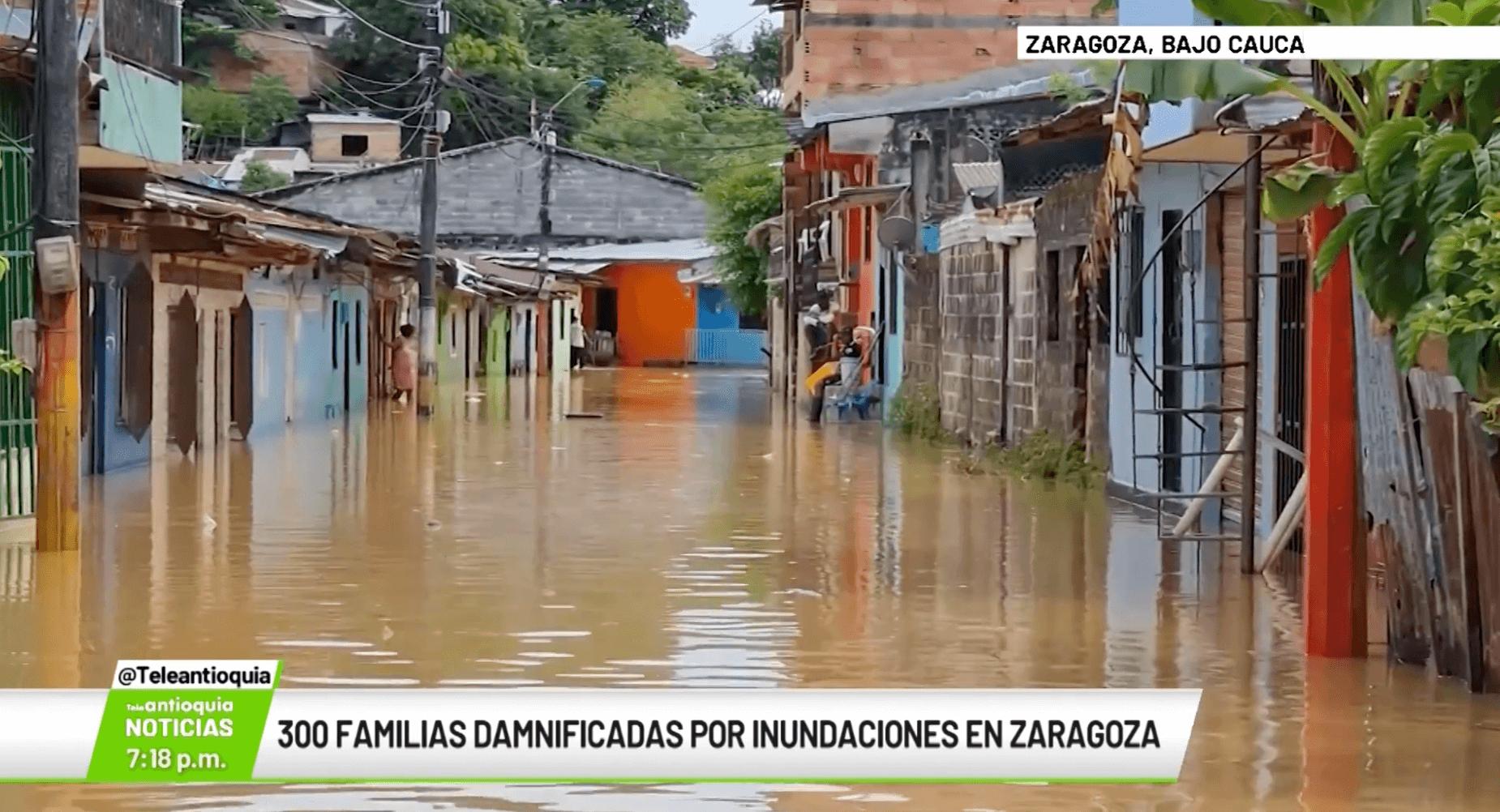 300 familias damnificadas por inundaciones en Zaragoza