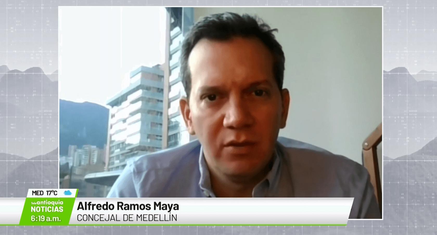 Alfredo Ramos Maya, concejal de Medellín