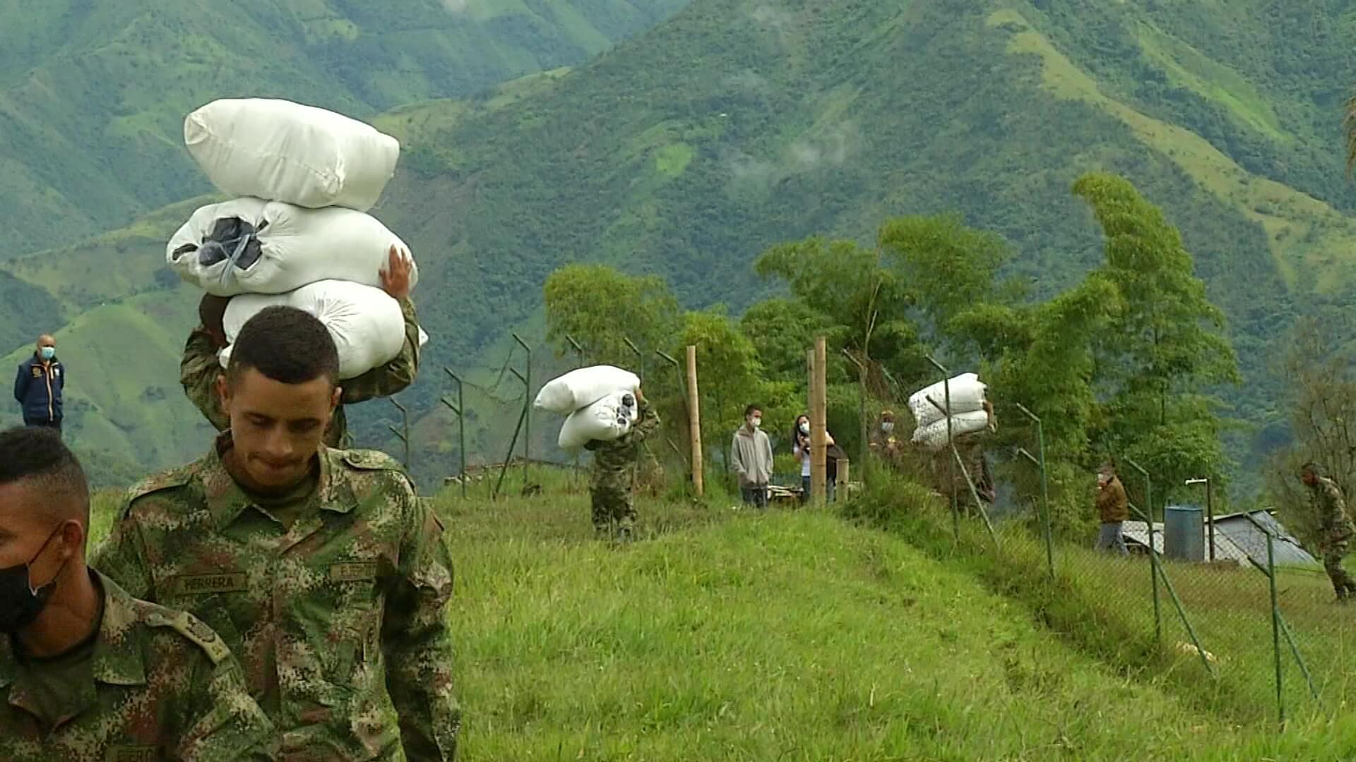 Aún se puede donar en pro de las familias de Ituango