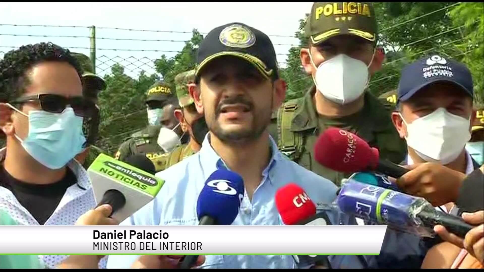 Autoridades revisan condiciones de seguridad en Ituango