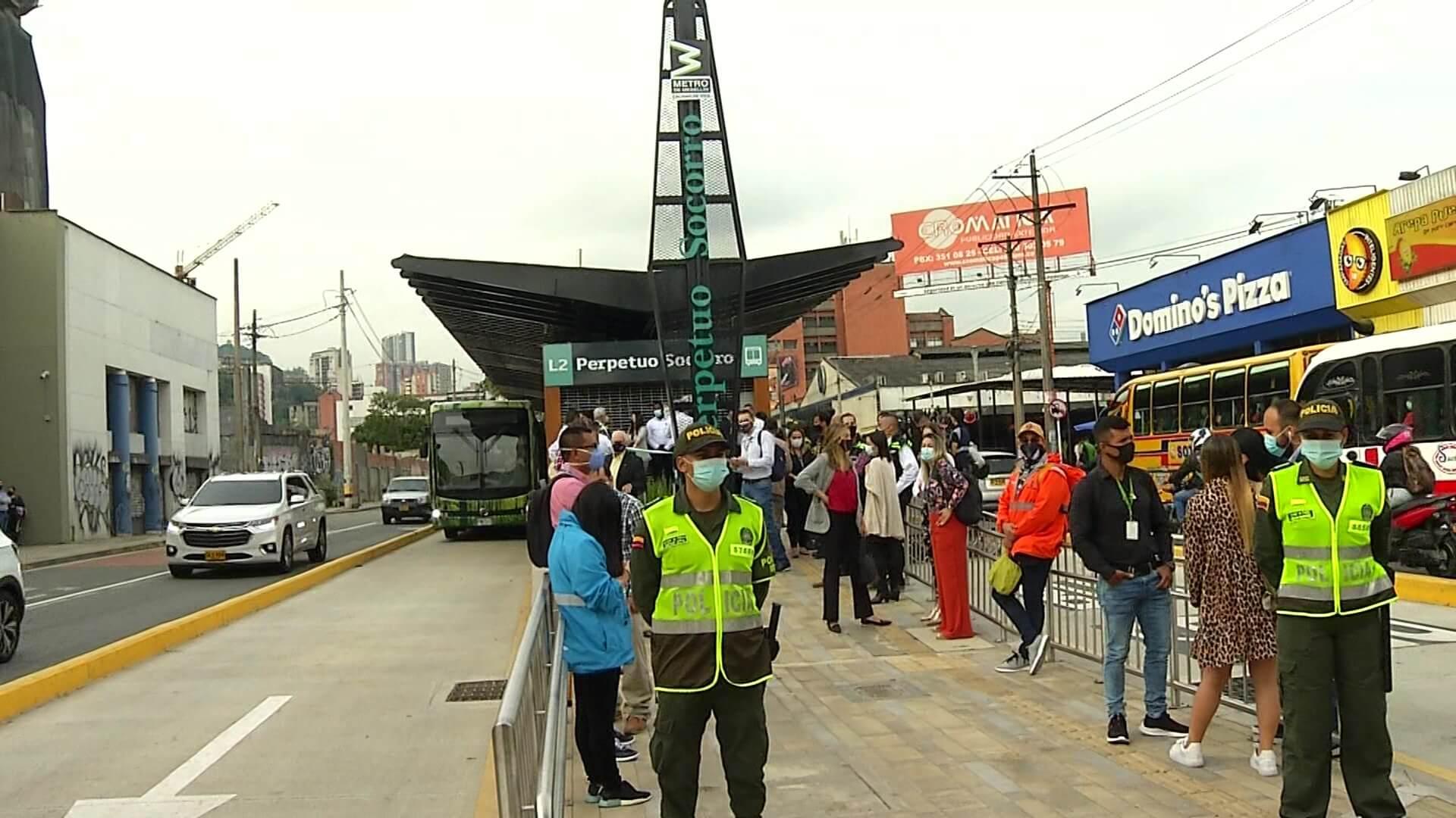 Comenzó operación de Metroplús por Avenida Oriental