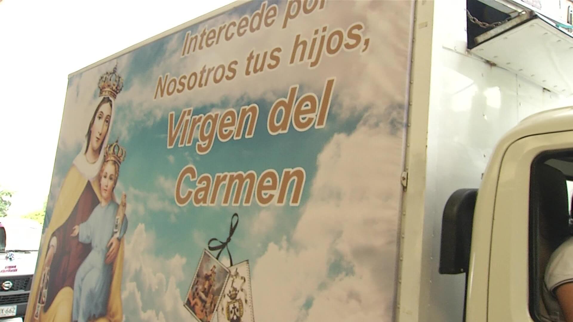 Conductores celebran Día de la Virgen del Carmen