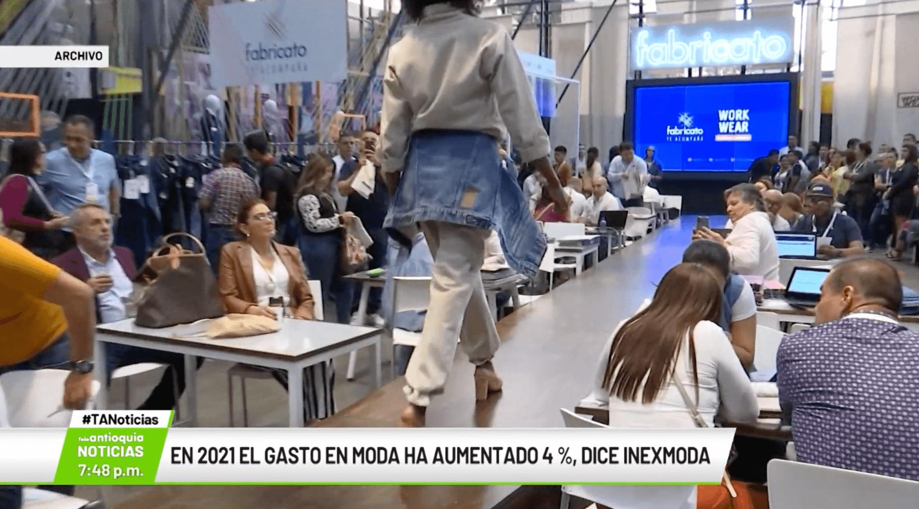 En 2021 gasto en moda ha aumentado 4 %, dice Inexmoda