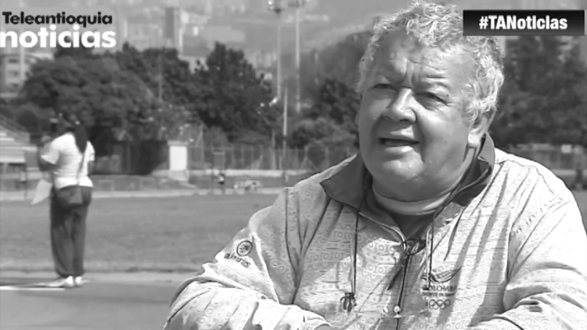 Falleció Armin Luna, el entrenador de atletas antioqueños