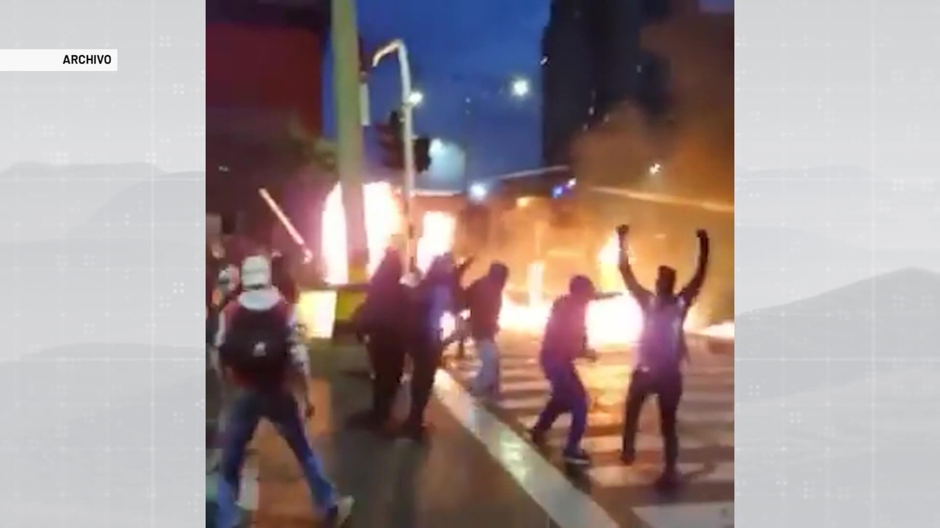 Gobierno prepara proyecto antidisturbios y antivandalismo