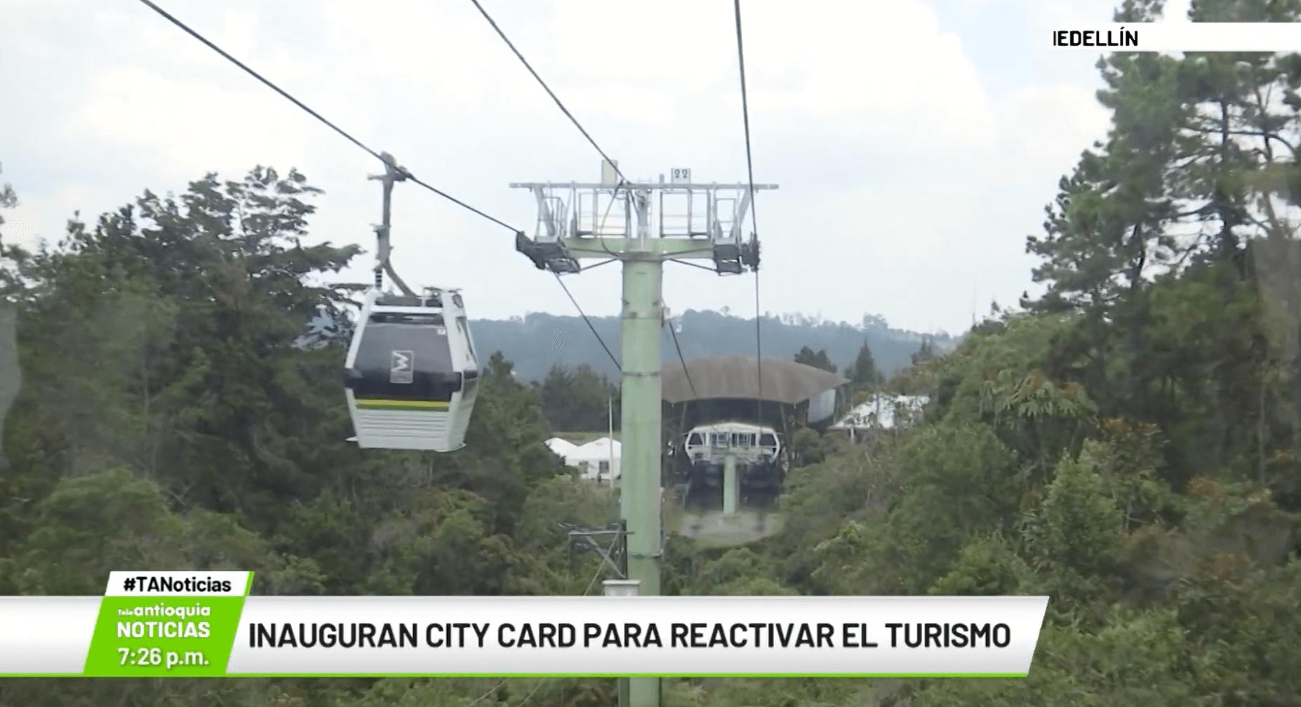 Inauguran City Card para reactivar el turismo