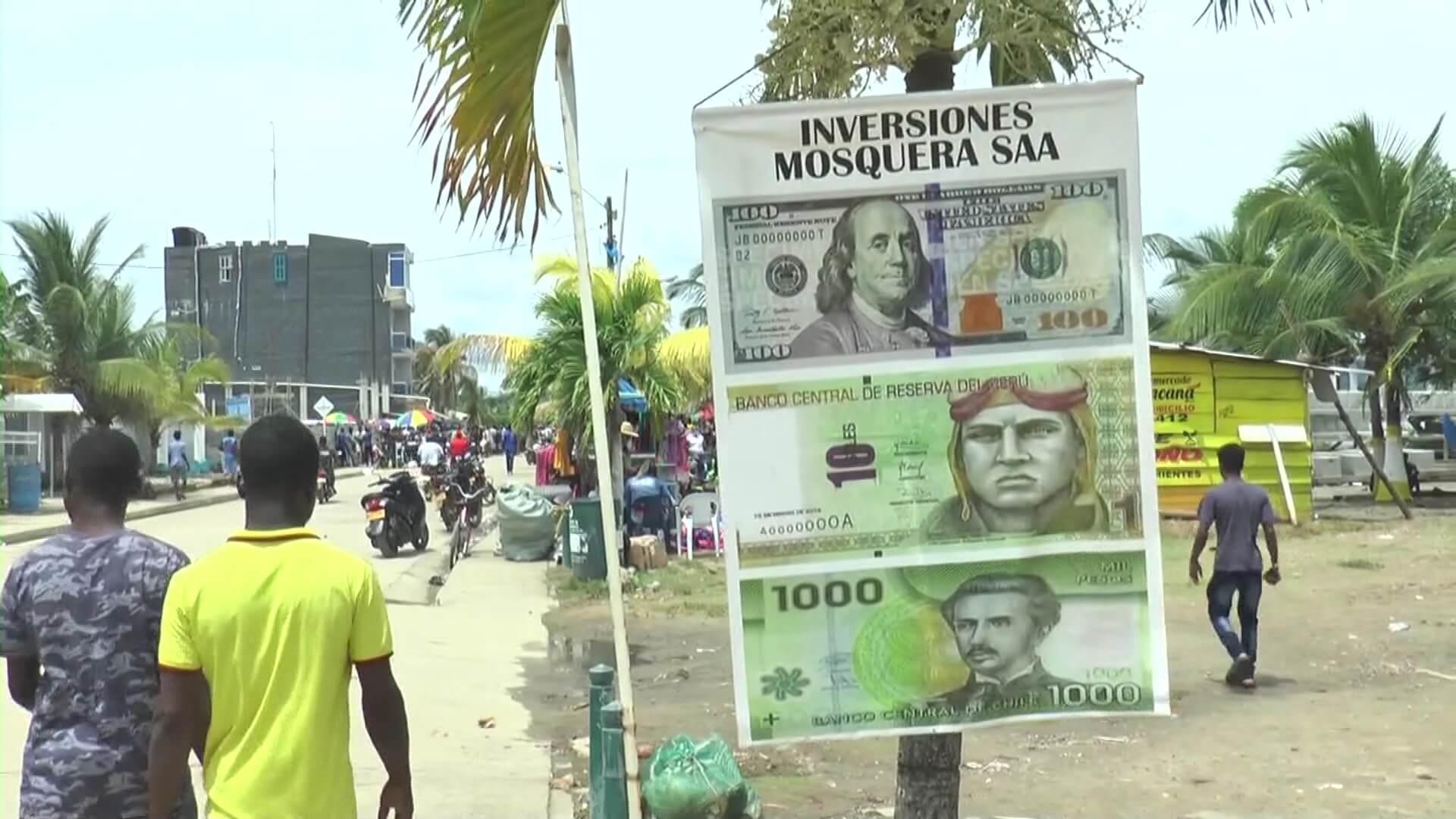 Necoclí dolarizado por los migrantes