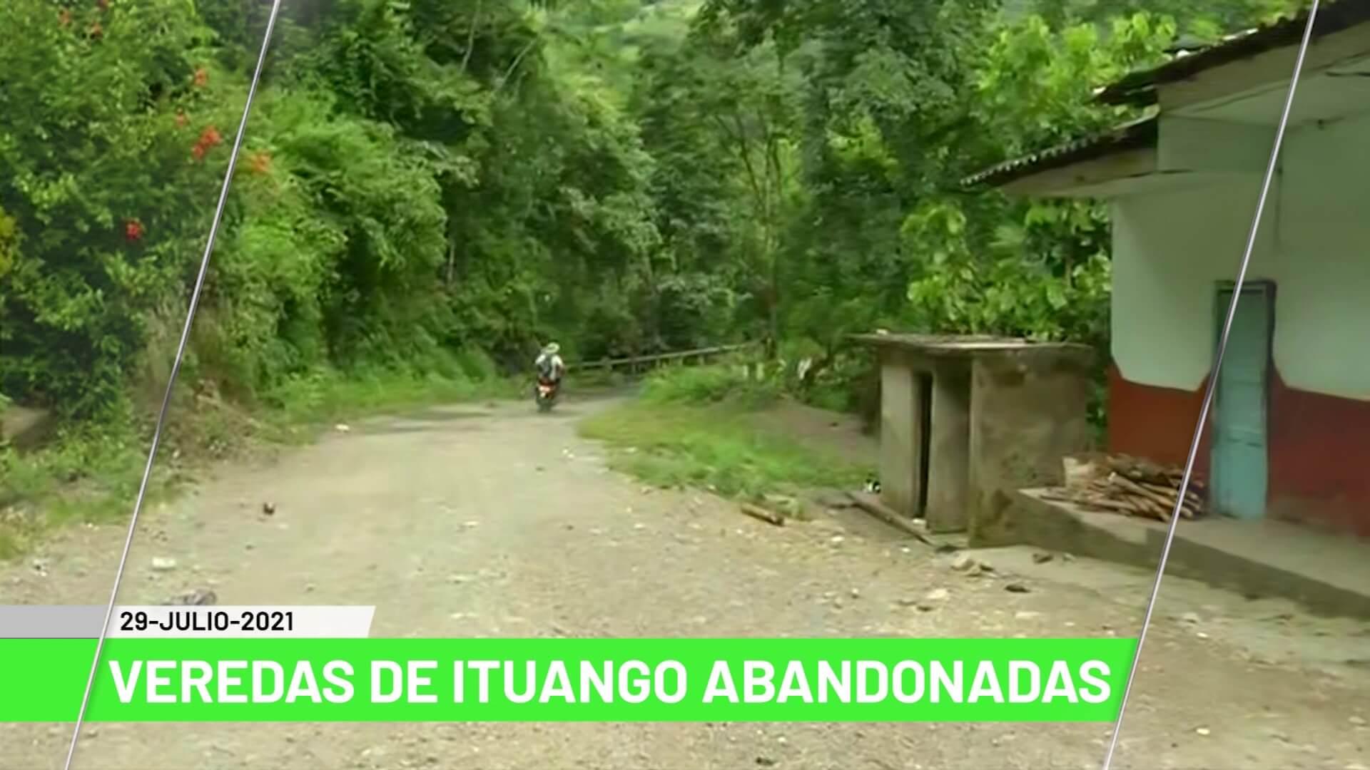 Titulares de Teleantioquia Noticias – jueves 29 de julio de 2021