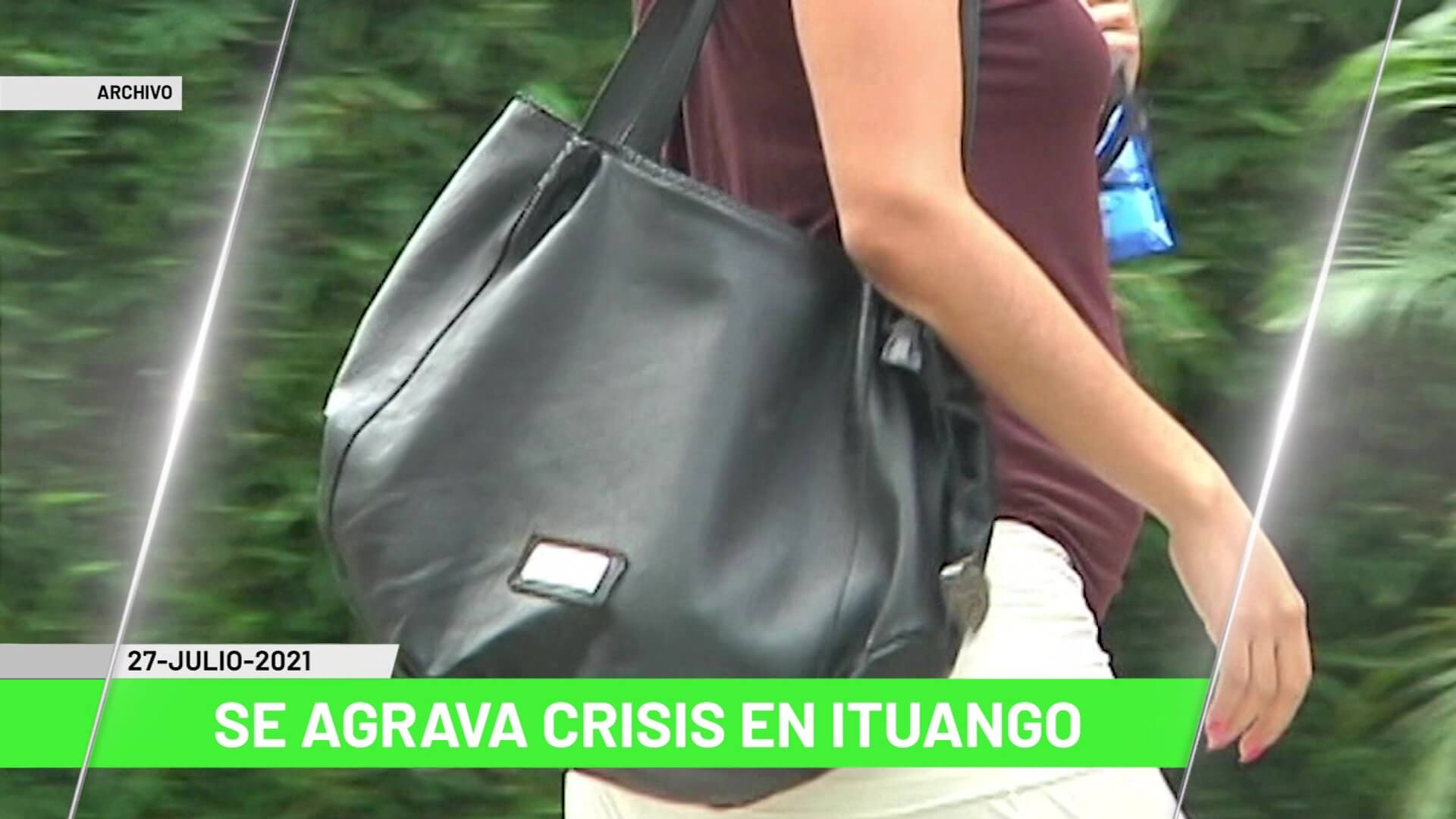 Titulares de Teleantioquia Noticias – martes 27 de julio de 2021