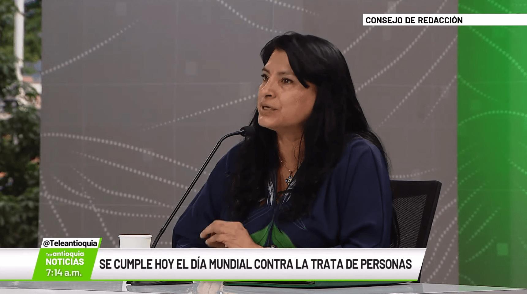 Alexandra Virviescas, subsecretaria de Derechos Humanos