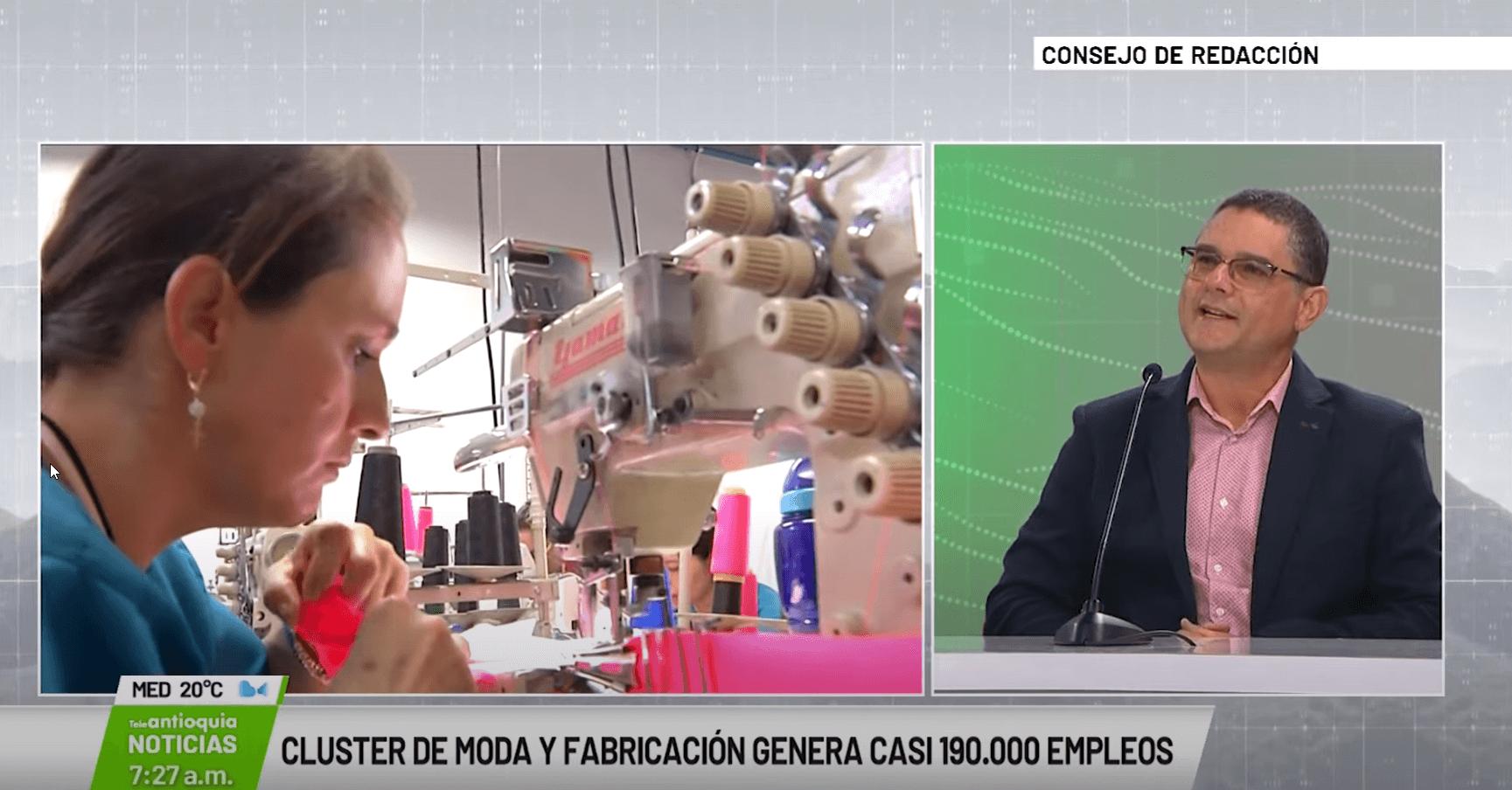 Rubén Valencia Sánchez, director de Cluster moda y fabricación avanzada