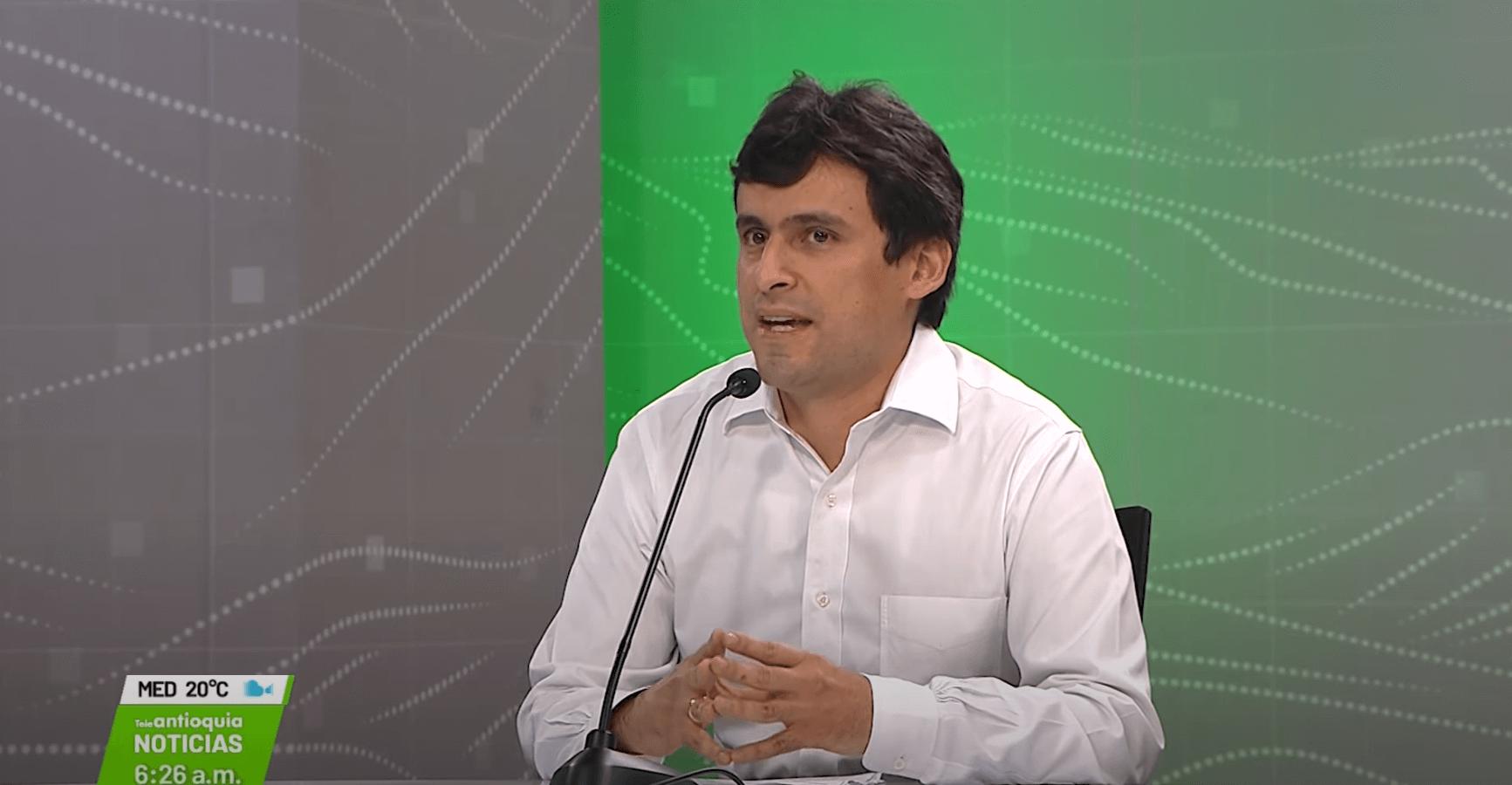 Omar Felipe Rangel Martínez, director de vigilancia de las regalías del DNP