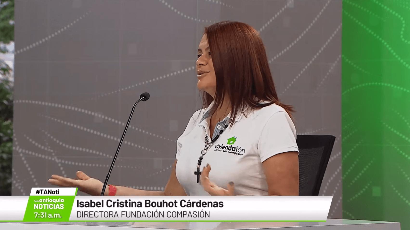 Isabel Cristina Bouhot Cárdenas, directora Fundación Compasión