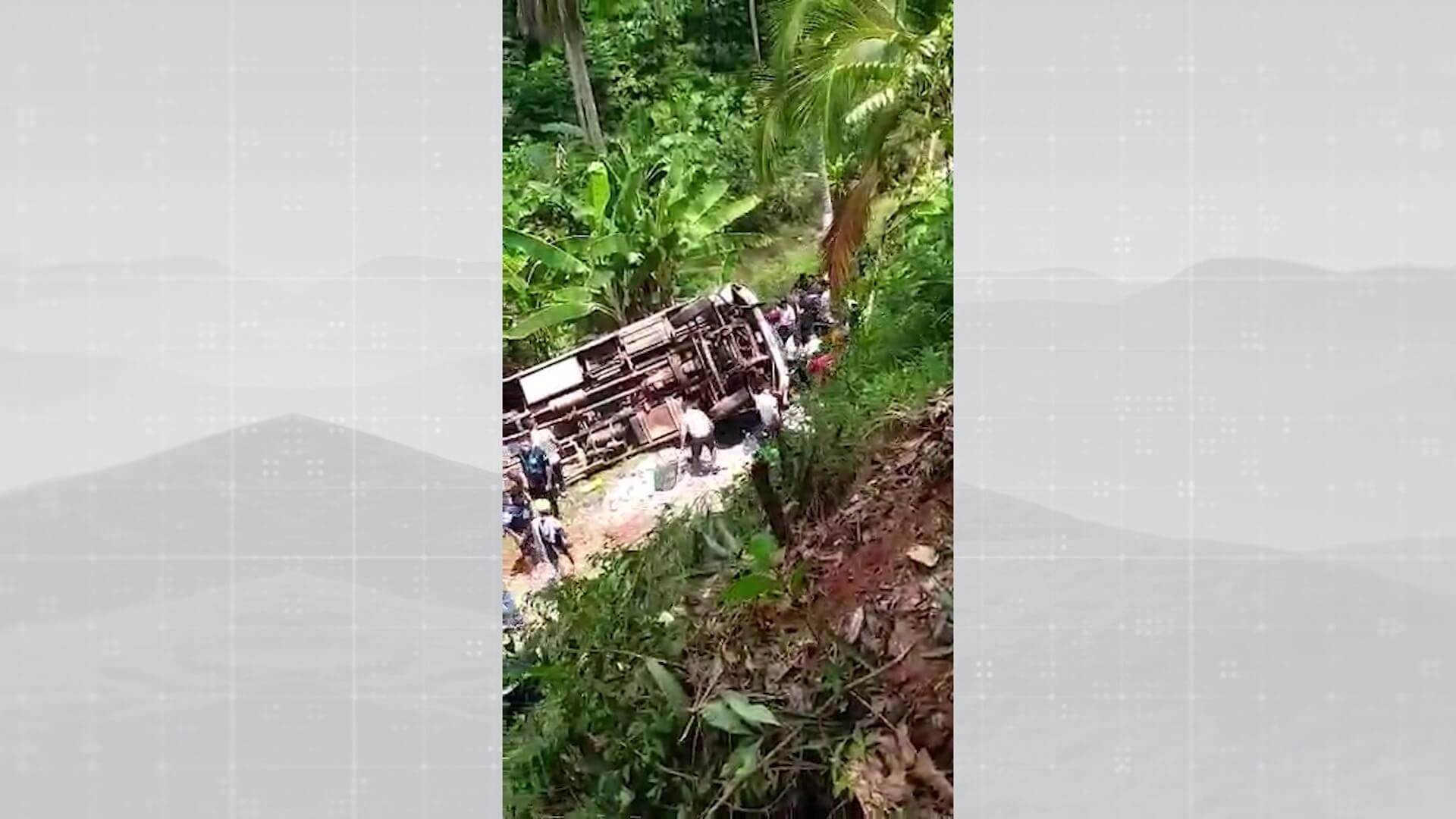 Accidente dejó un muerto y siete heridos
