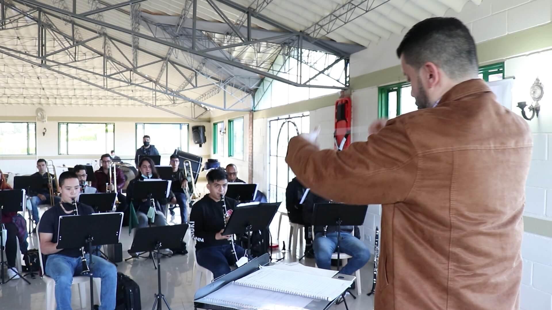 Campamento musical internacional en Santa Rosa de Osos