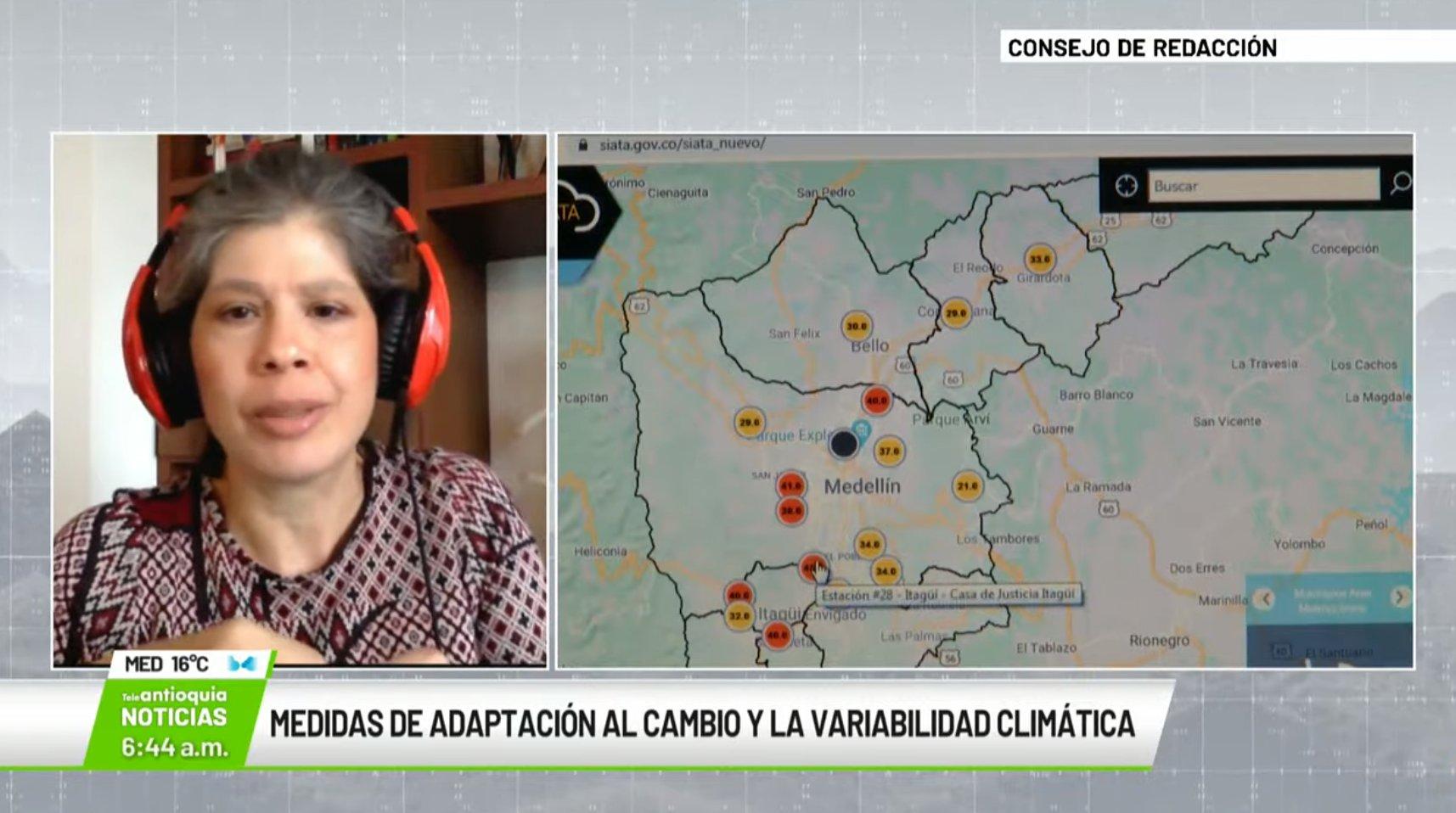 Entrevista con Eliana Martínez Herrera, dir. del convenio para la formulación del Plan de Adaptación al cambio climático.