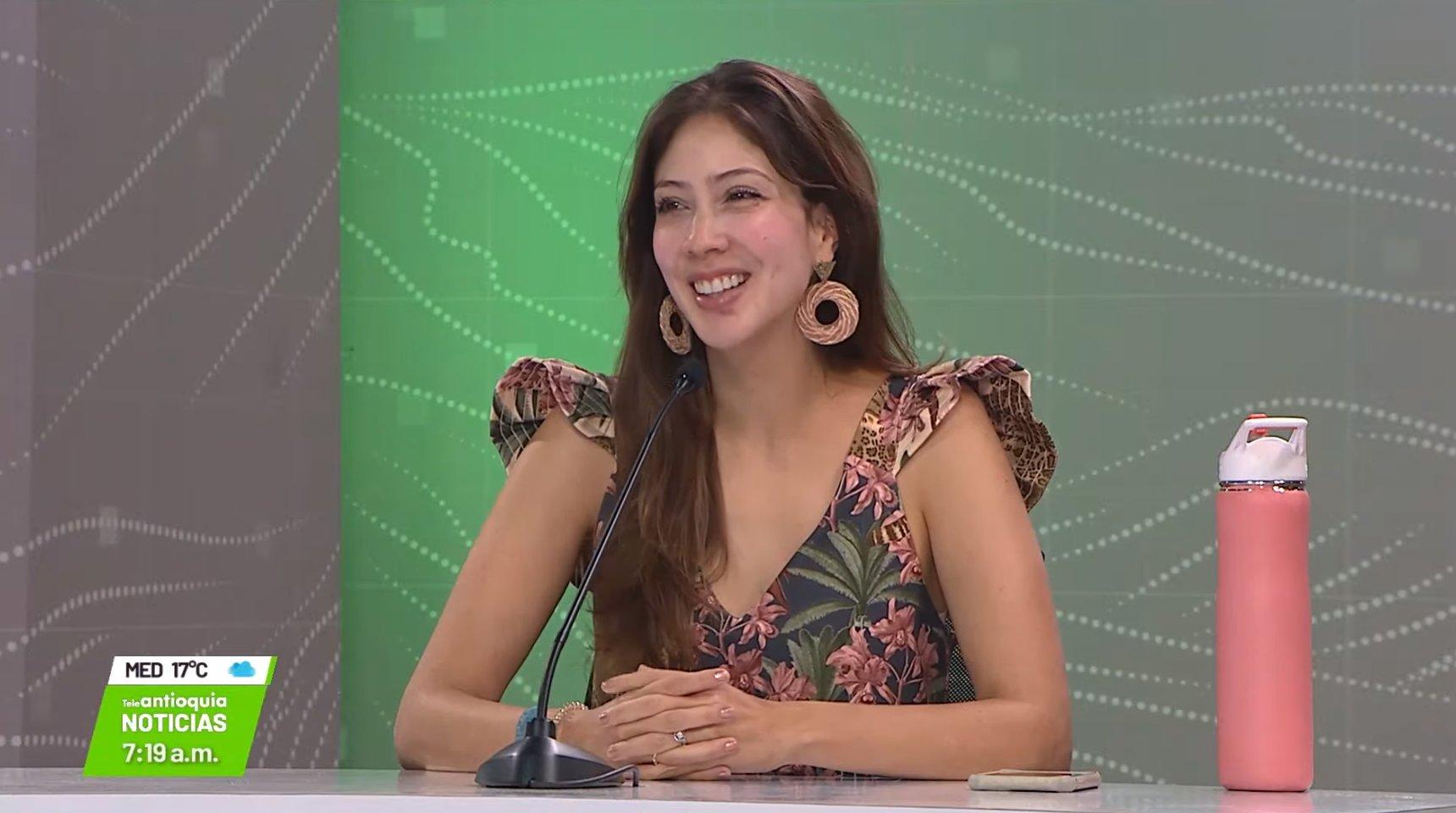 Diana Osorio, gestora social de Medellín.