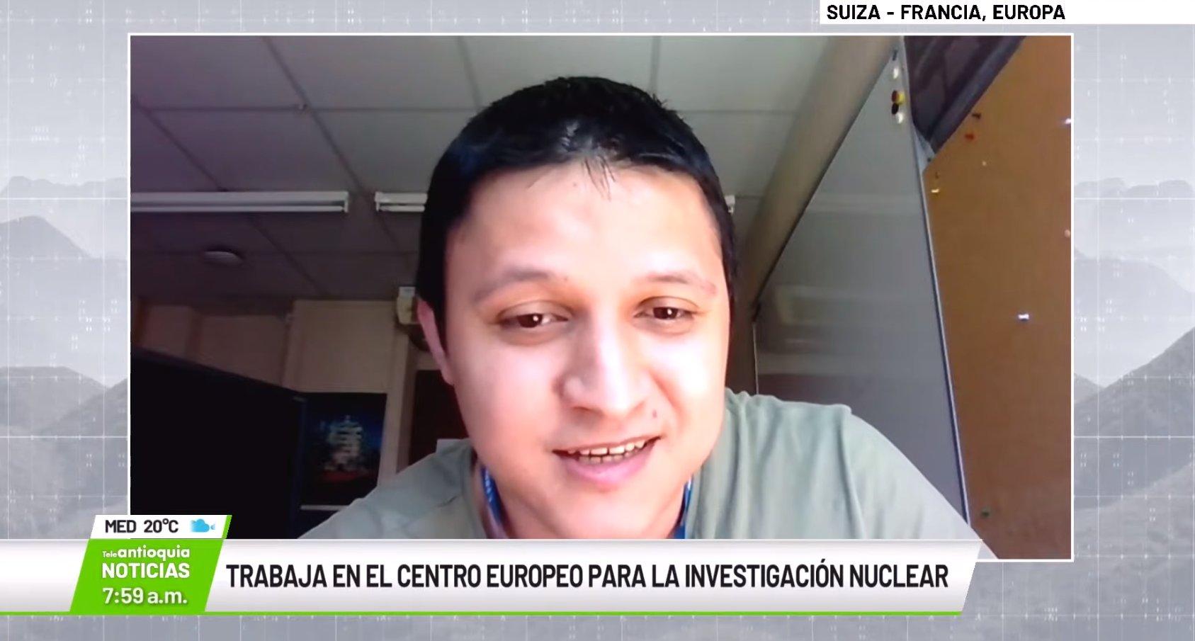 Omar Zapata Mesa, científico de datos departamento de informática del CERN