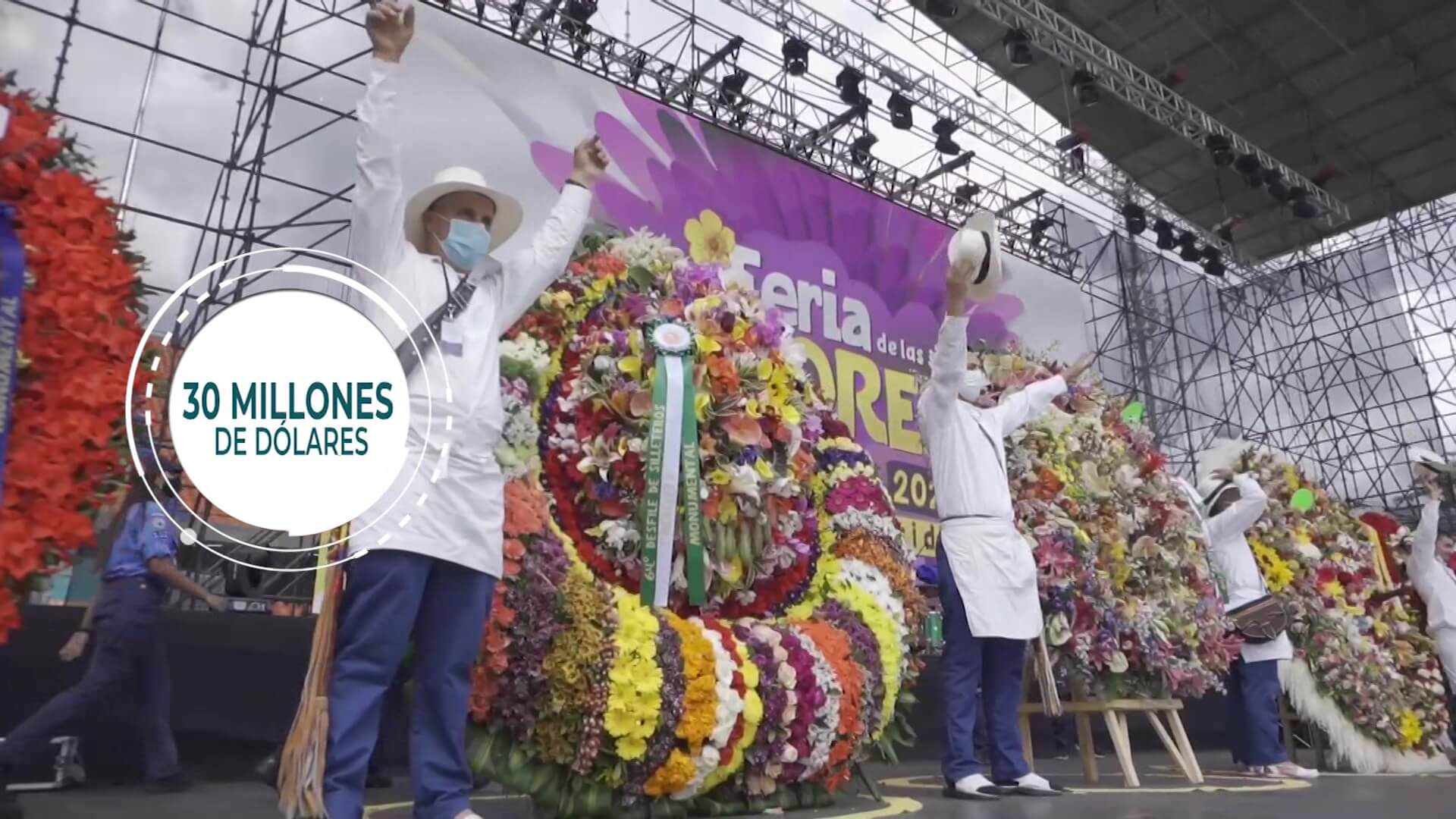 """Feria de Flores atrajo a 200 mil turistas"": Alcaldía"
