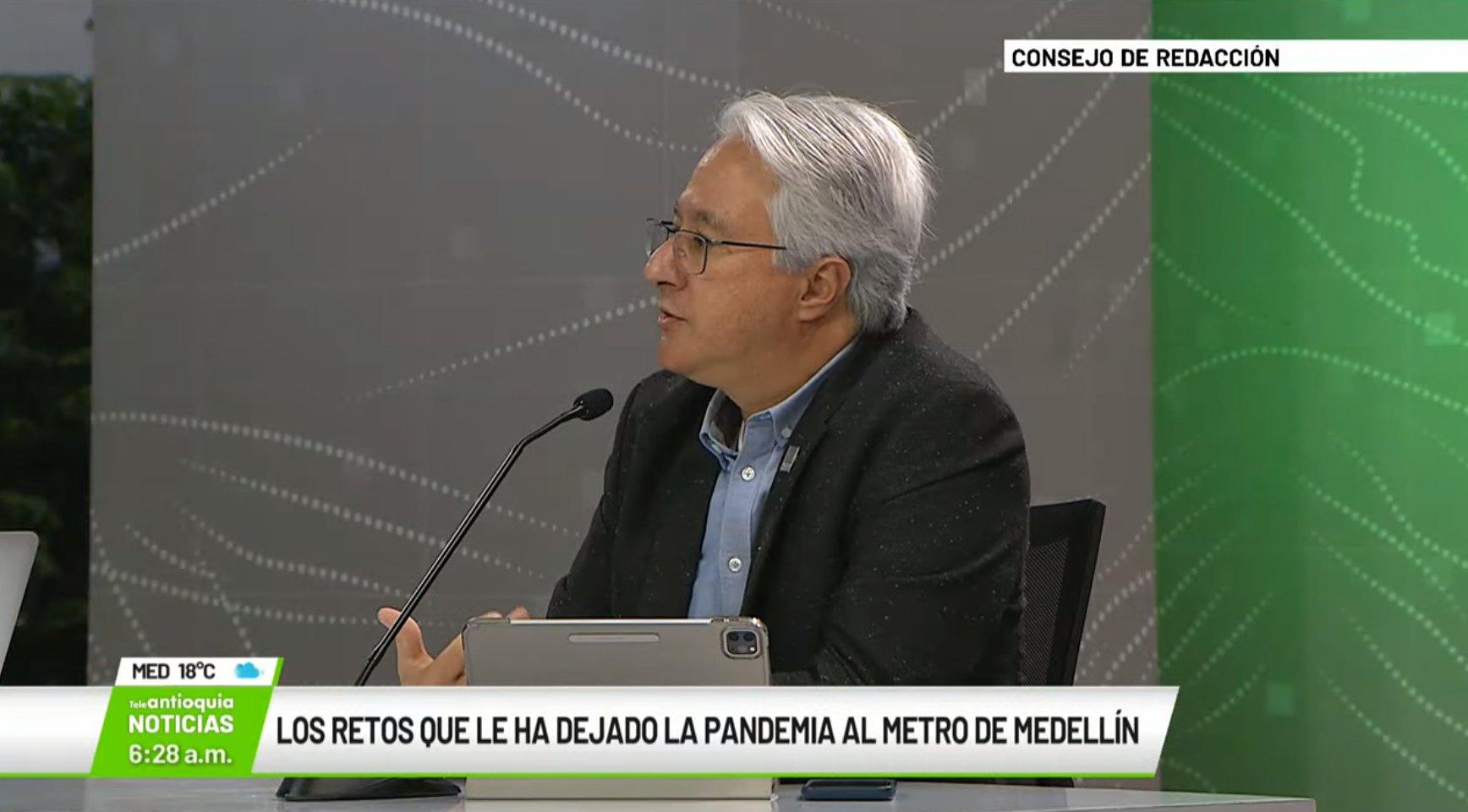 Entrevista con Tomás Elejalde Escobar, gerente del Metro de Medellín