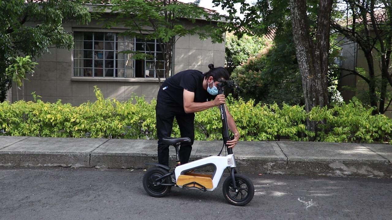 'Hakuna' un vehículo para aportar a la movilidad sostenible