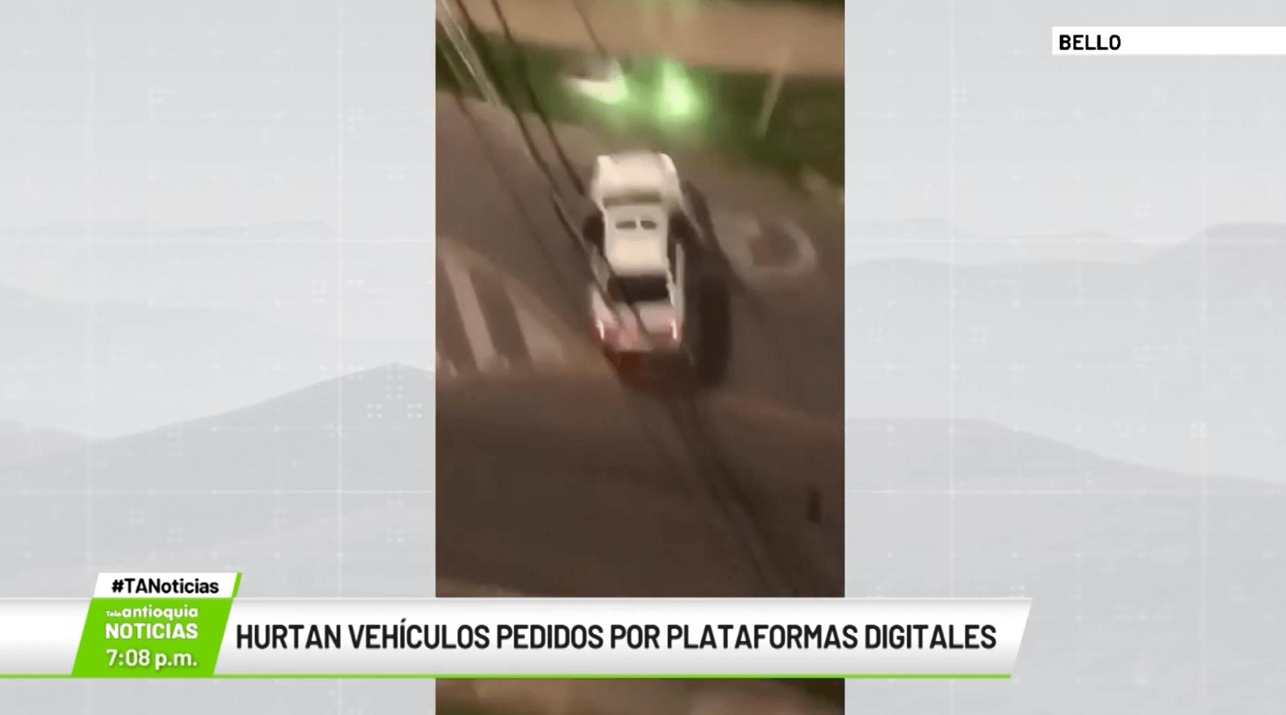 Hurtan vehículos pedidos por plataformas digitales