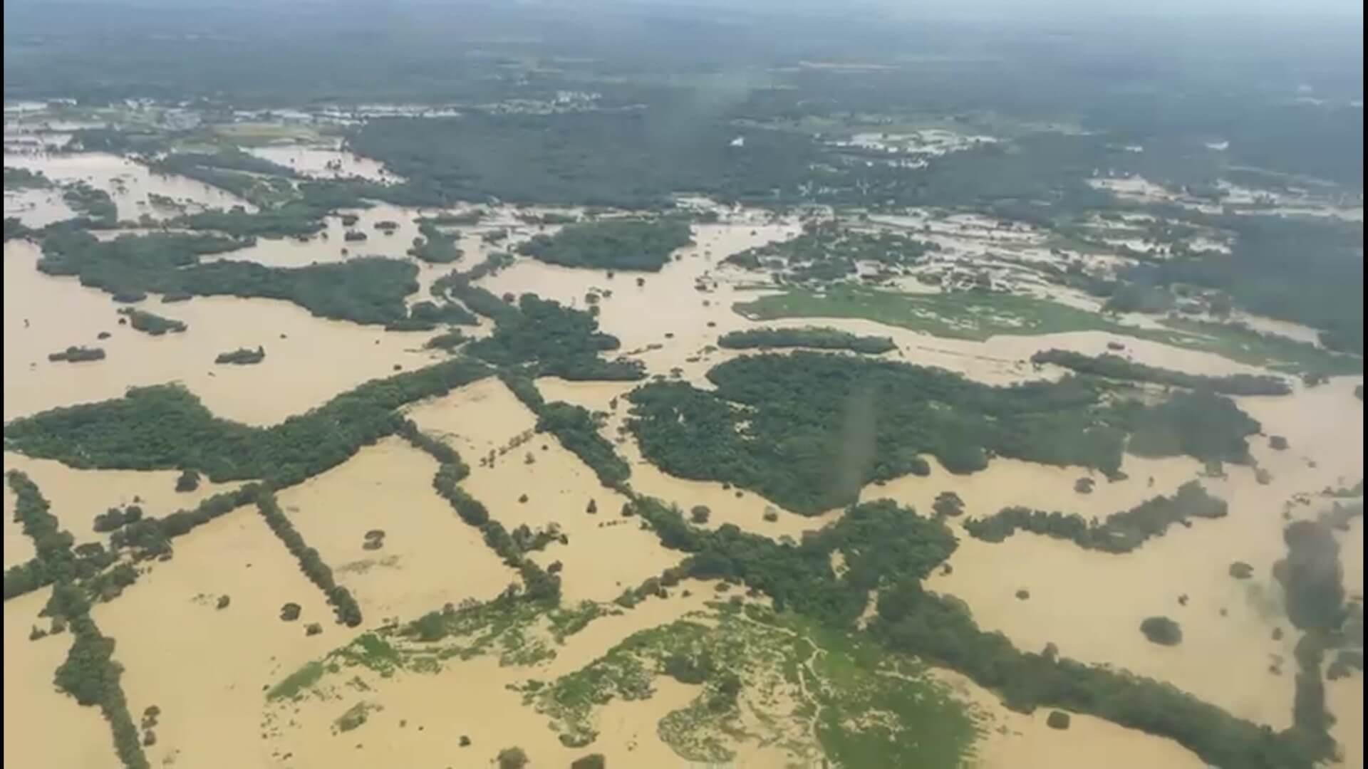 Mininterior visitó zona de inundación en La Mojana