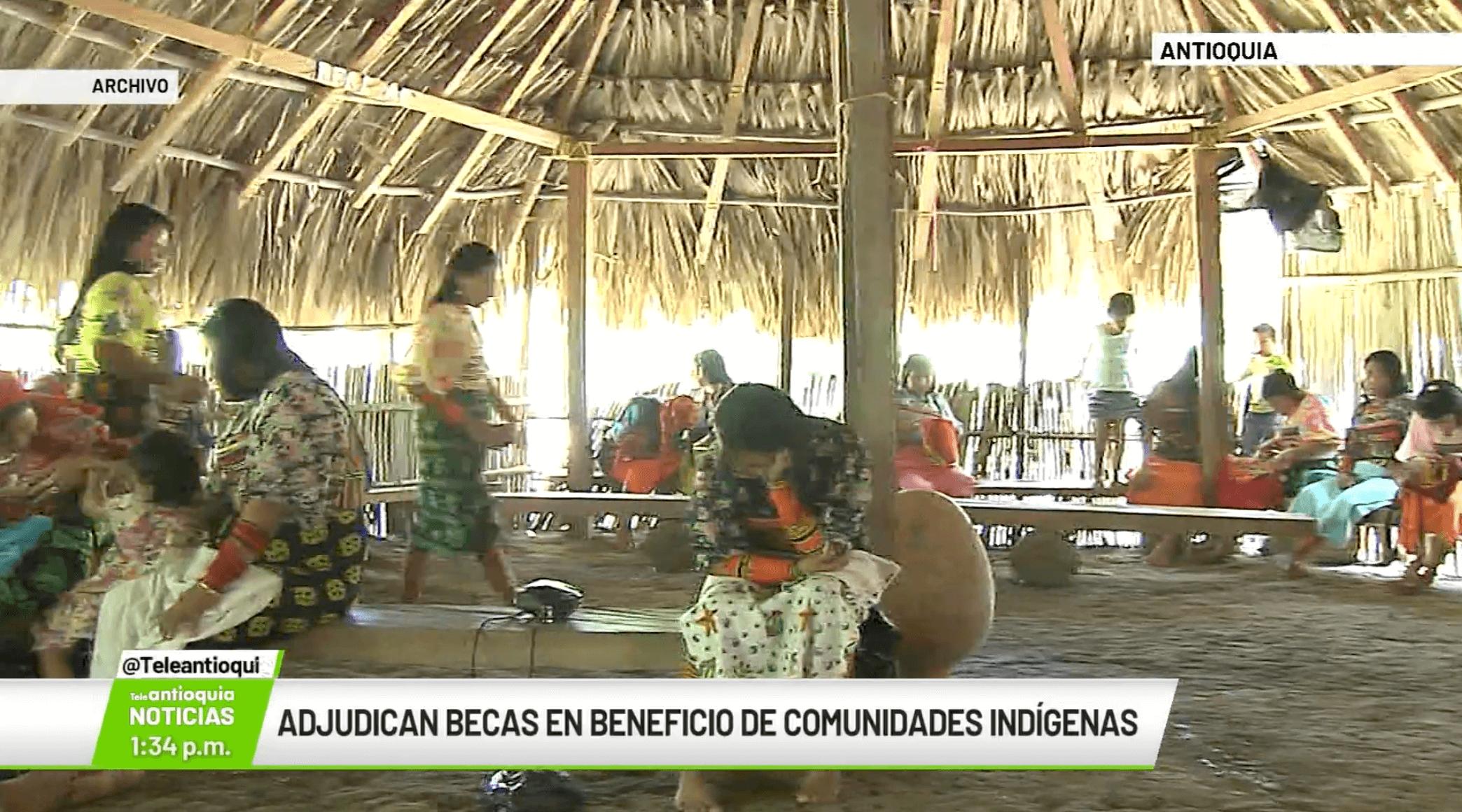 Adjudican becas en beneficio de comunidades indígenas