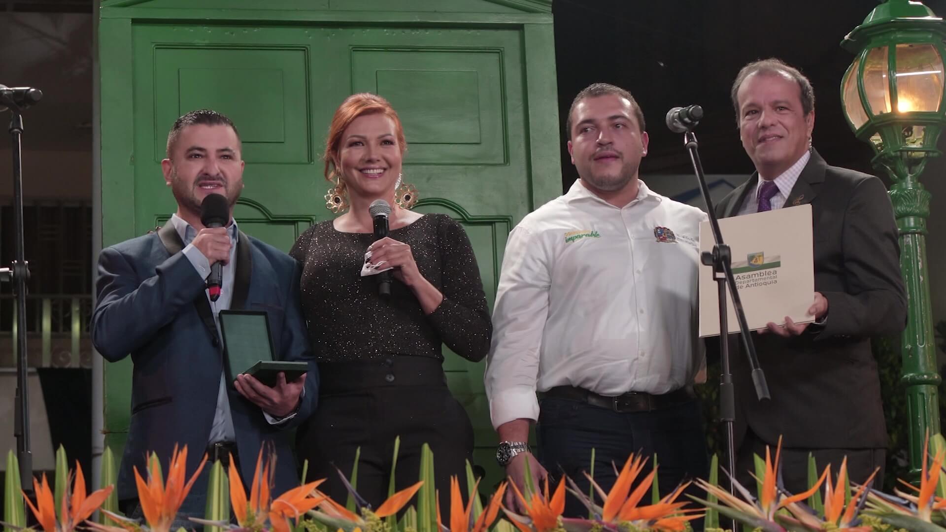 Serenata recibió la Orden Mariscal Jorge Robledo