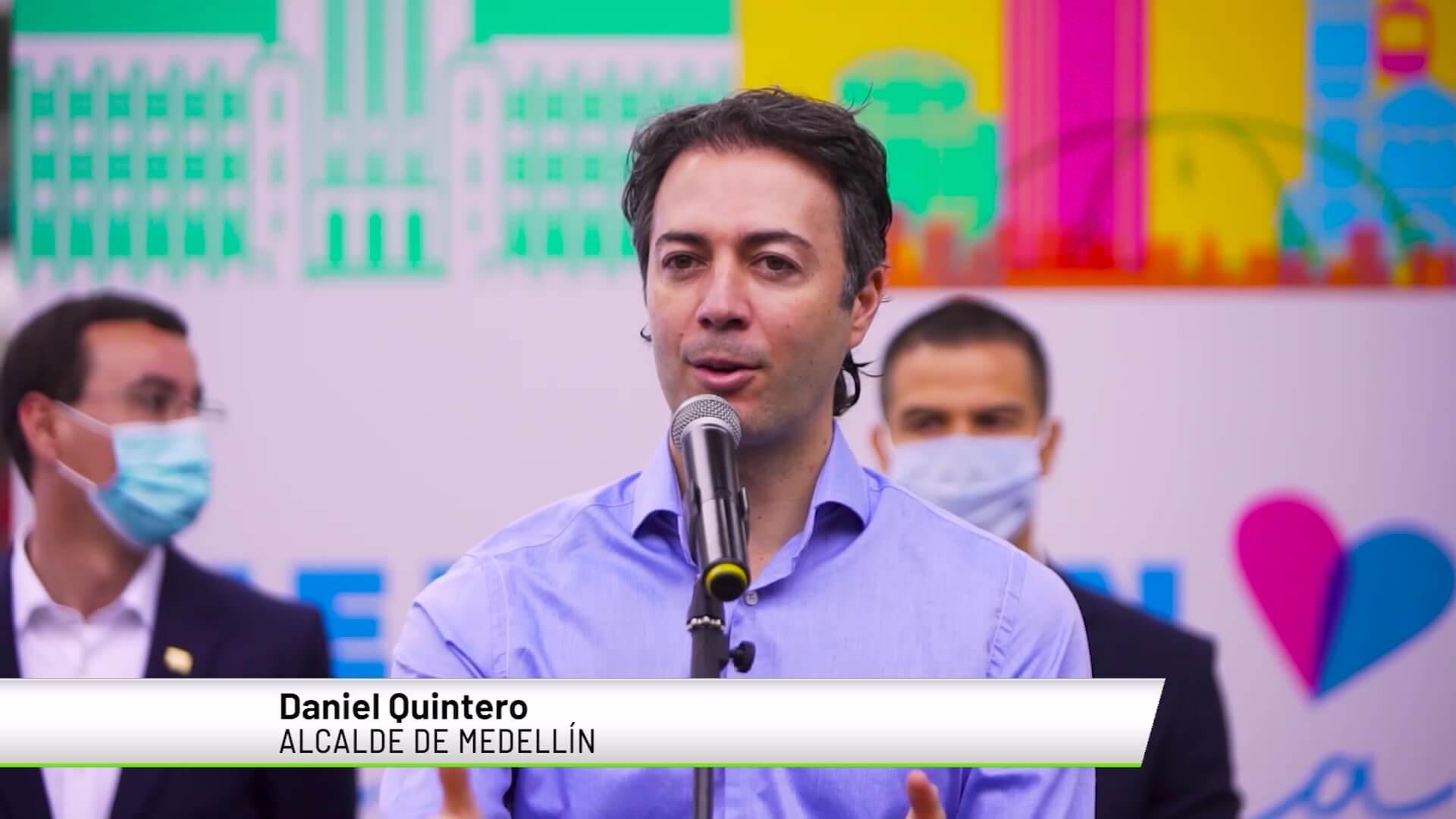 """""""Si quitan restricciones no habría Feria de las Flores"""": Daniel Quintero"""