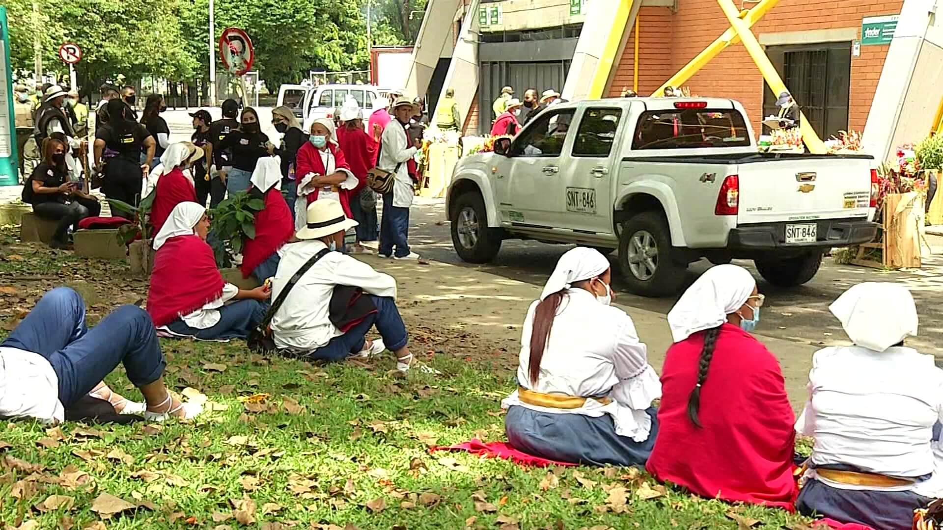 Silleteros harán otro desfile y plantón de protesta