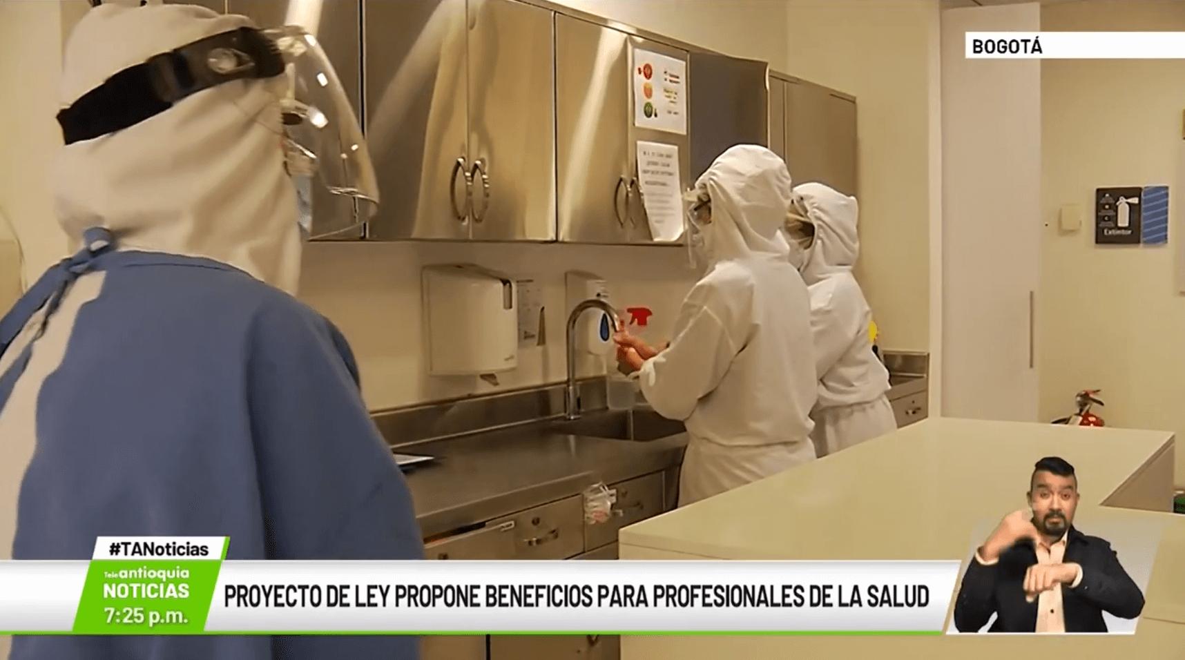 Proyecto de ley propone beneficios para profesionales de la salud