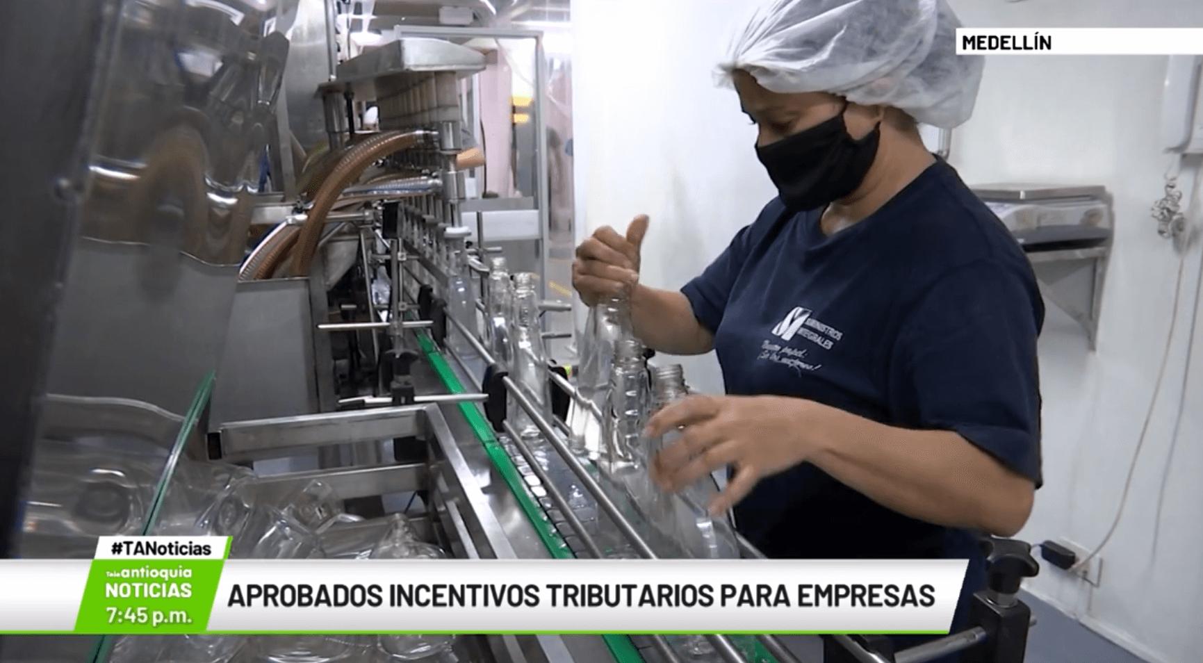 Aprobados incentivos tributarios para empresas