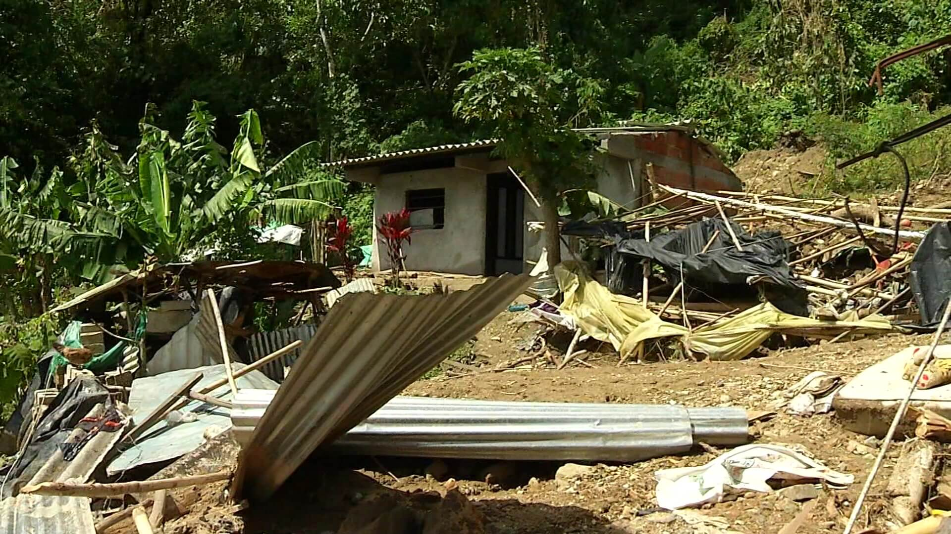 Unas 400 viviendas afectadas por vendaval y avenida torrencial