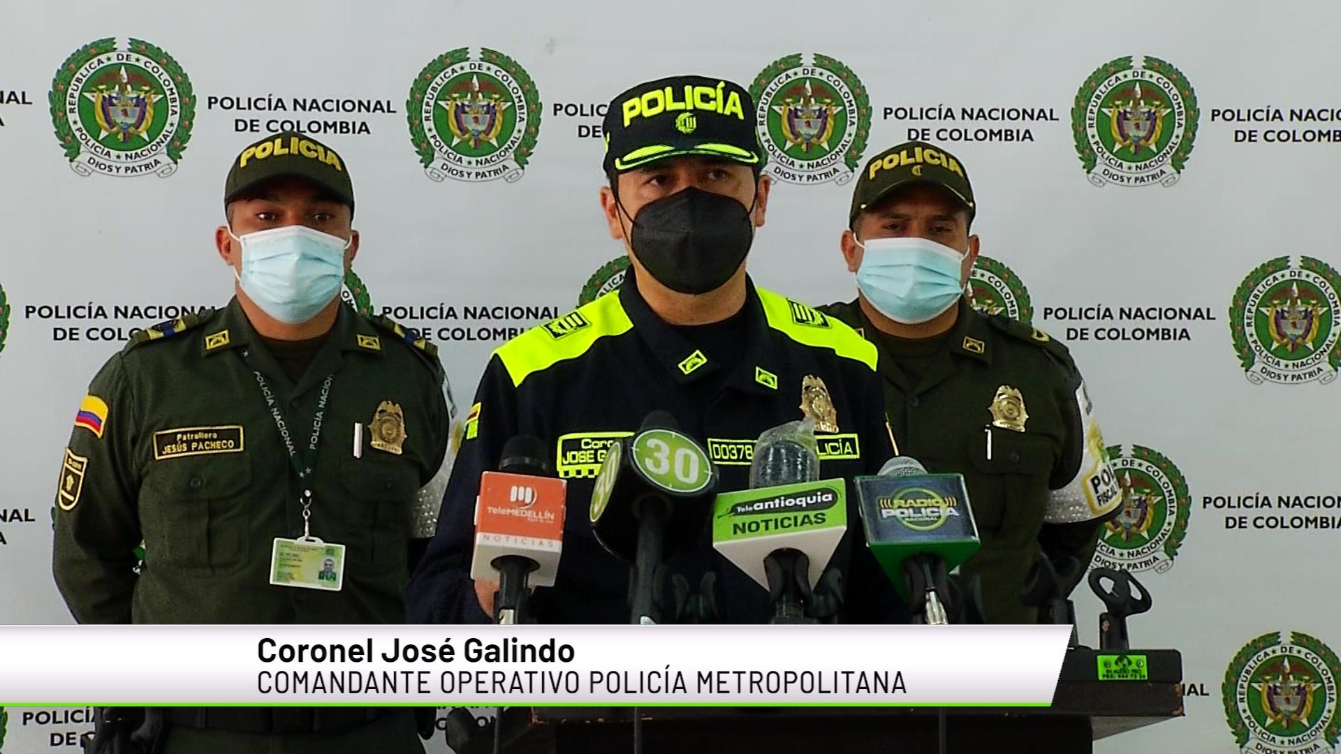 Habitantes de Medellín se sienten inseguros