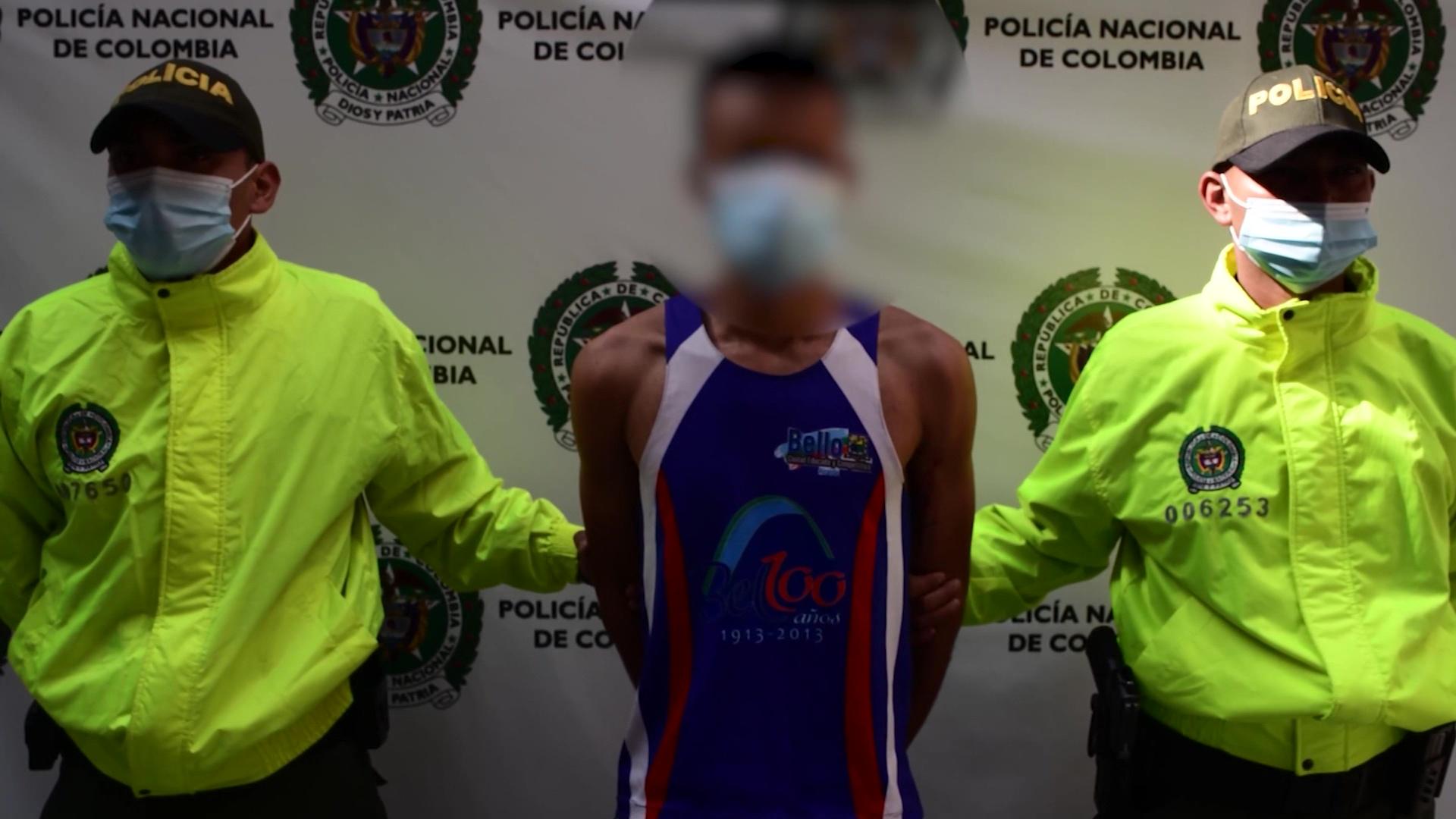 Capturado agresor de agente del Esmad en Medellín