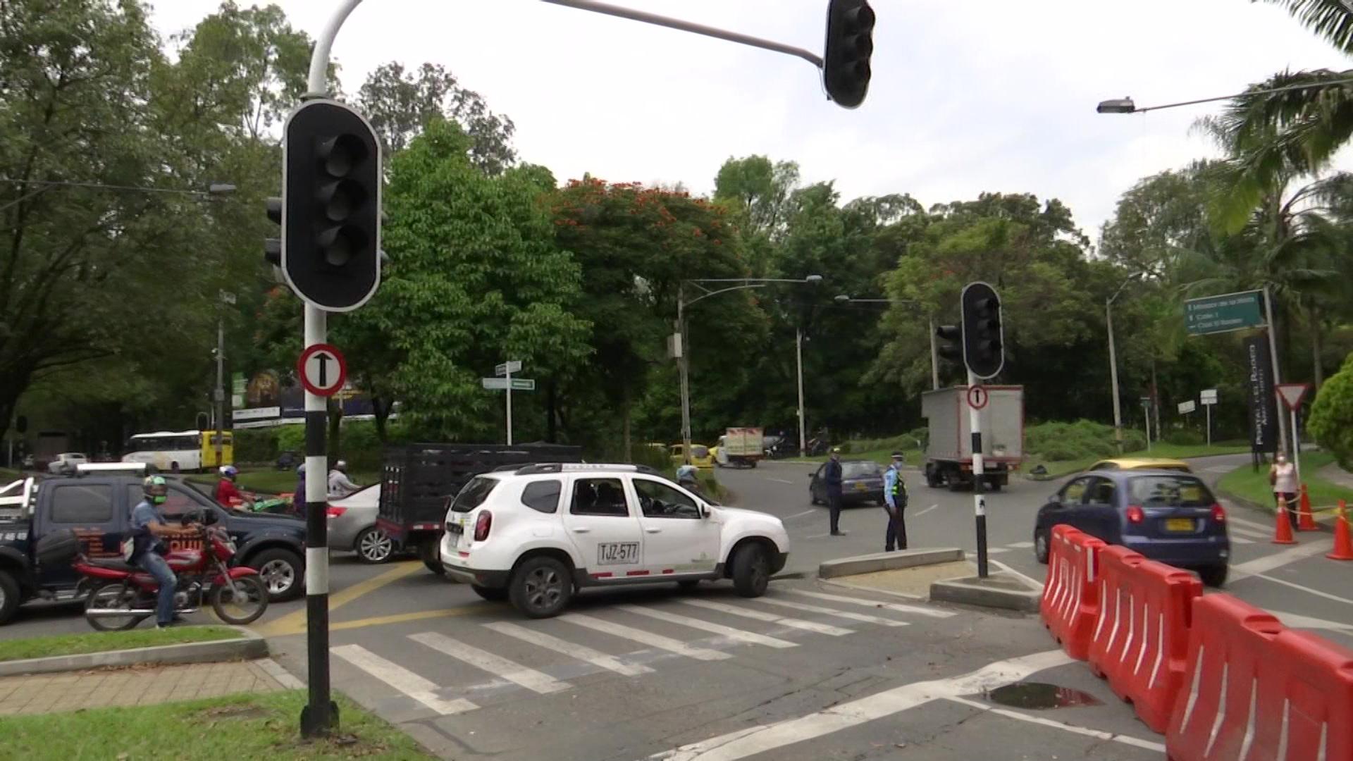 2021: semáforos dañados en 177 cruces. Costo: 3.150 millones
