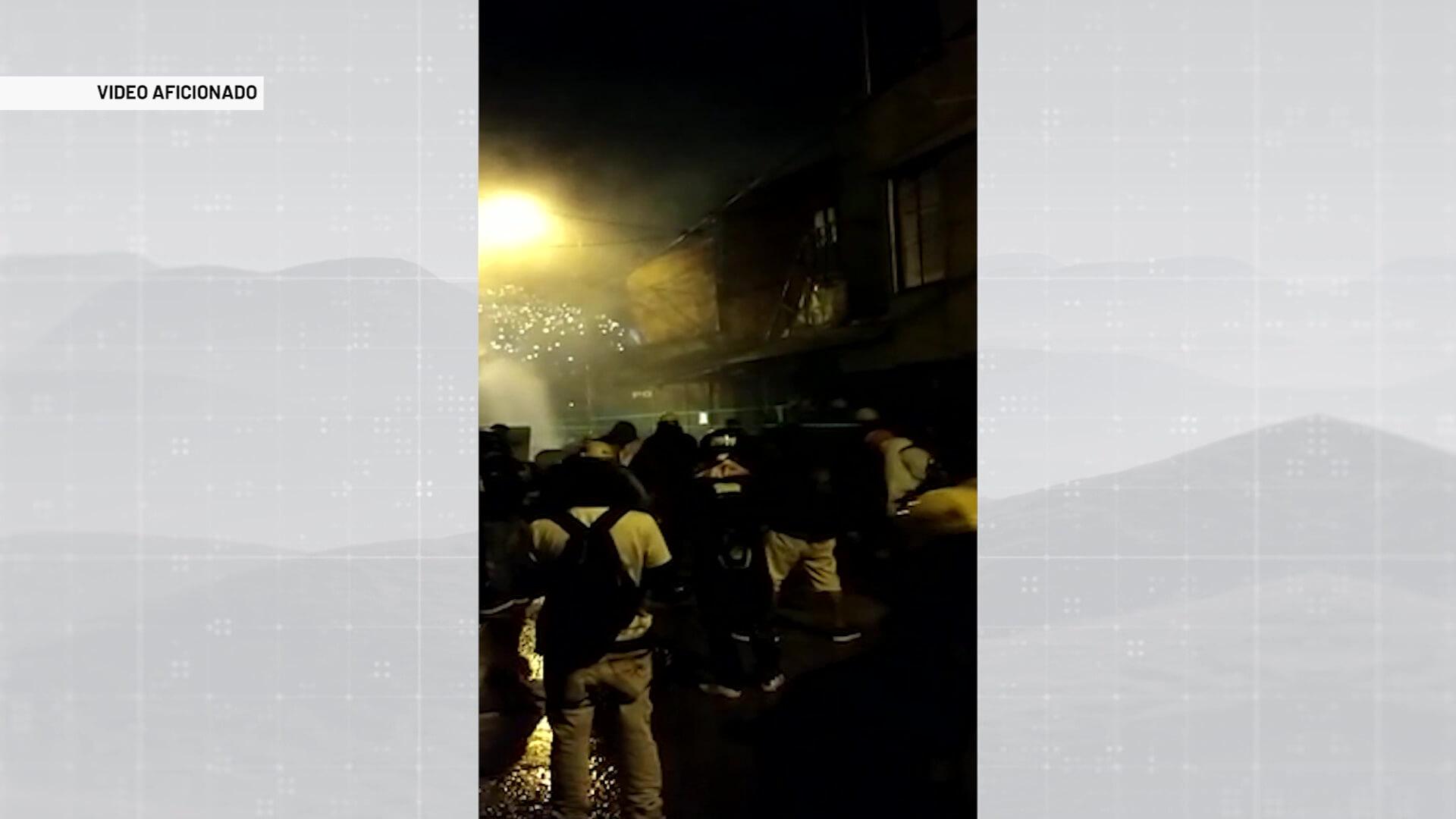 4 personas heridas durante otro día de manifestaciones