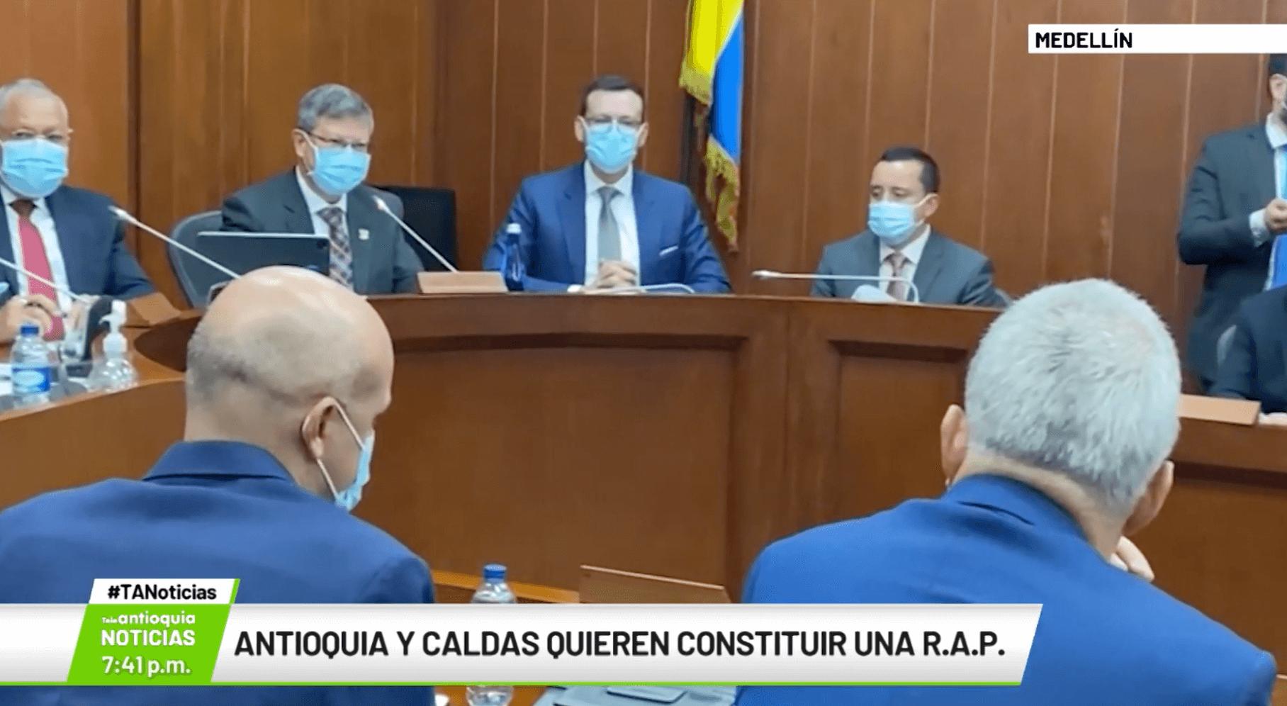 Antioquia y Caldas quieren construir una R.A.P