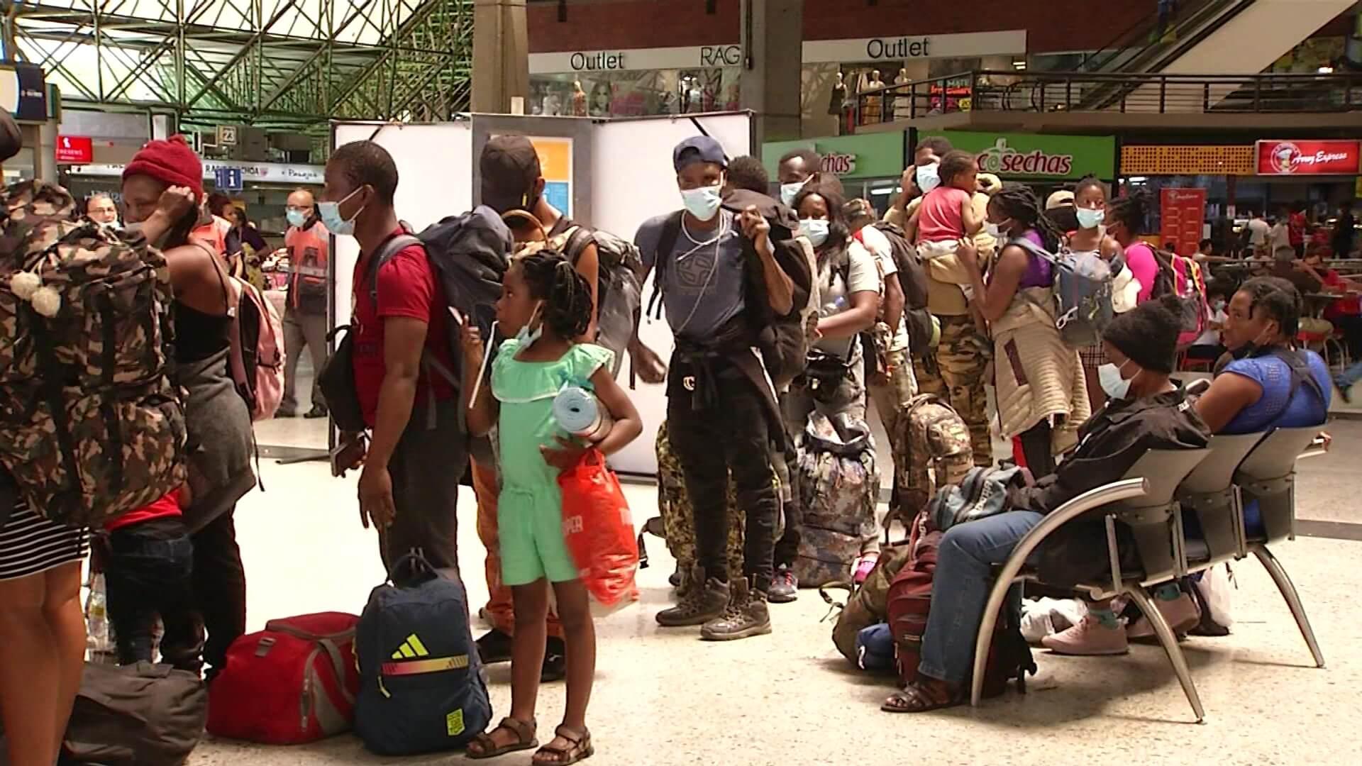 Aumenta la llegada de migrantes haitianos