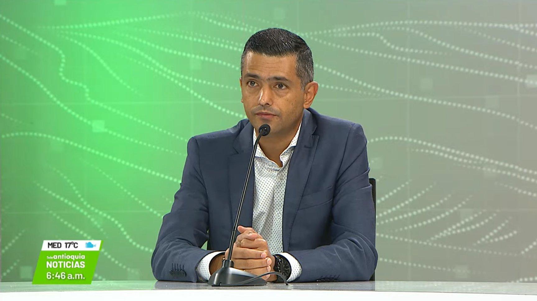 Entrevista con Braulio Espinosa Márquez, alcalde de Envigado