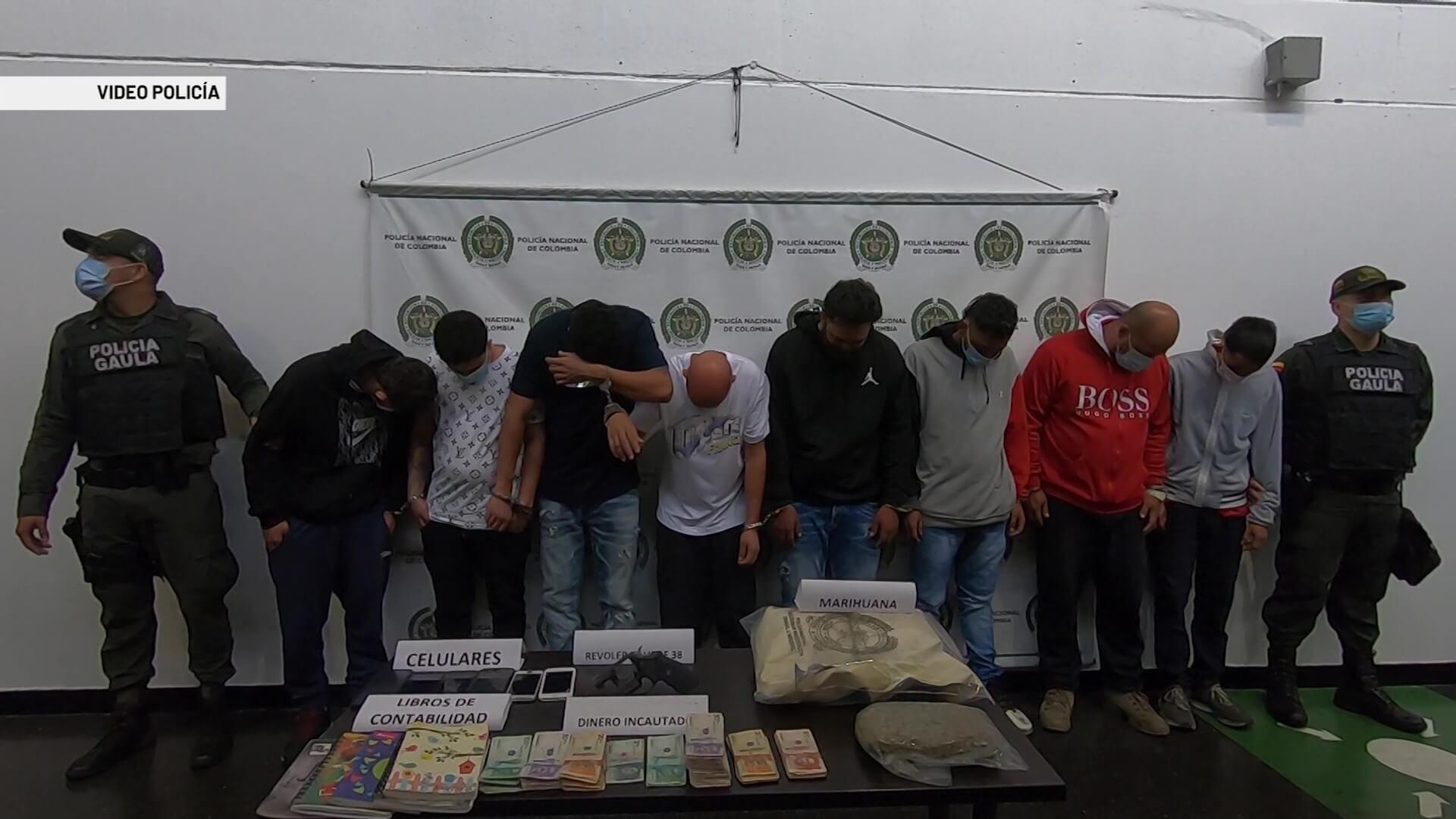 Capturados 12 presuntos miembros de Los Pachelly