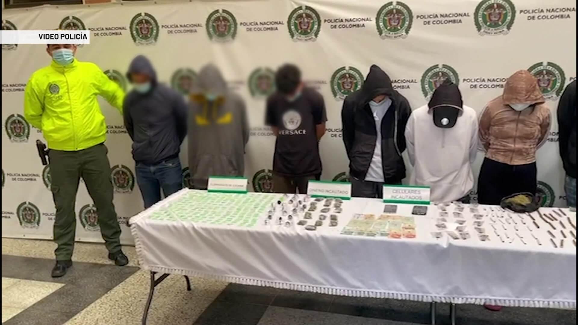 Capturados 9 presuntos integrantes de 'los pachelly'