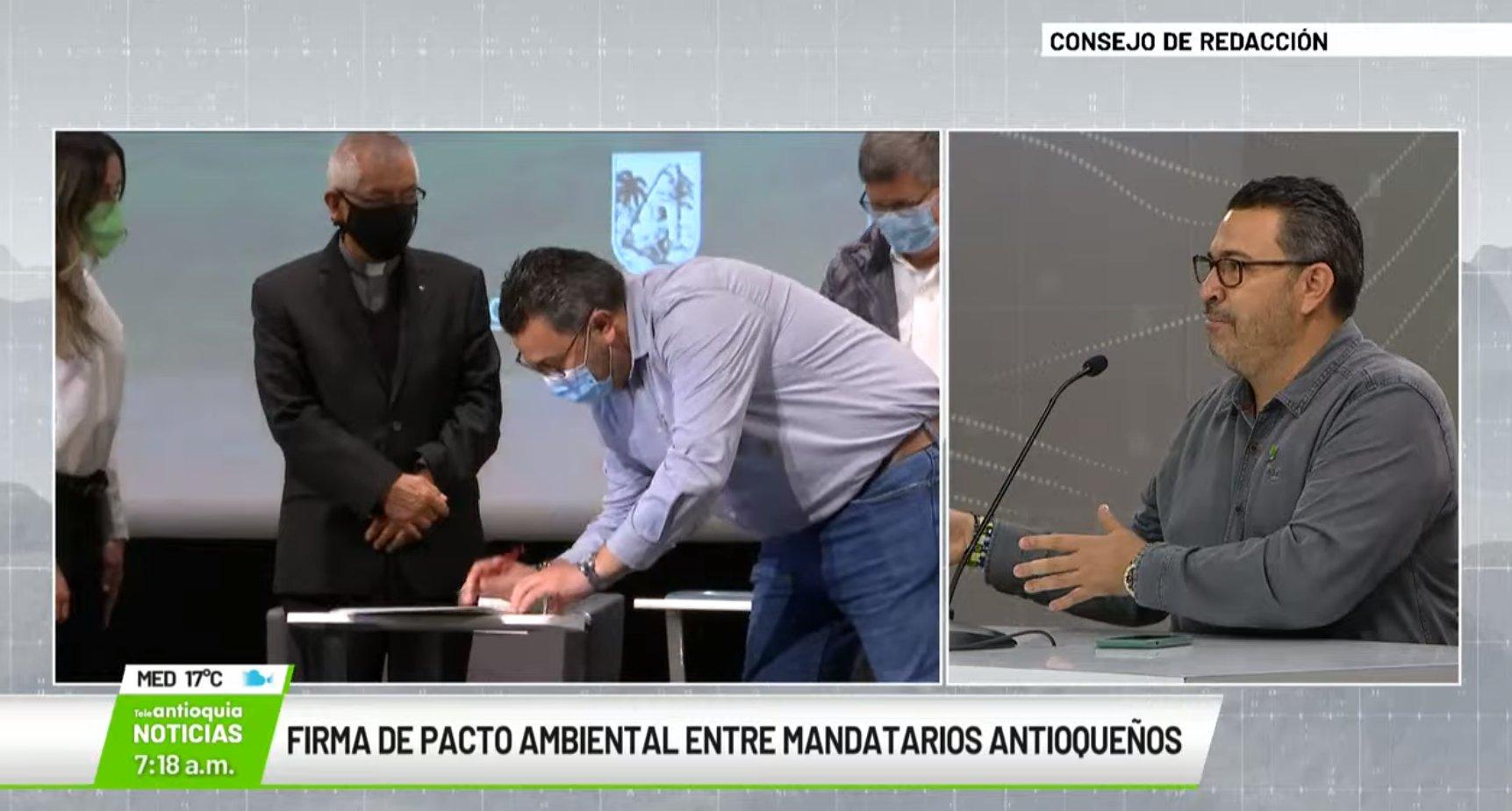 Entrevista Carlos Ignacio Uribe, secretario de Medio Ambiente y Sostenibilidad