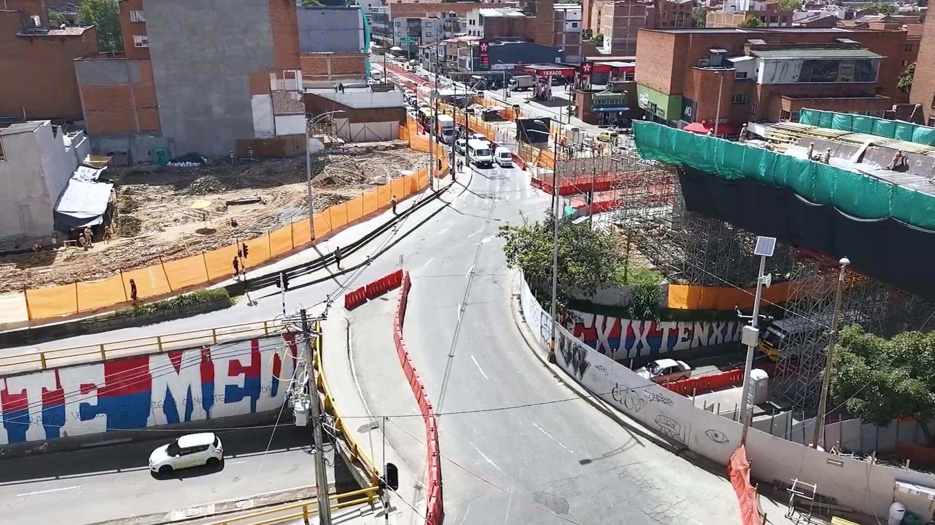 Cierre en San Juan con la Avenida 80