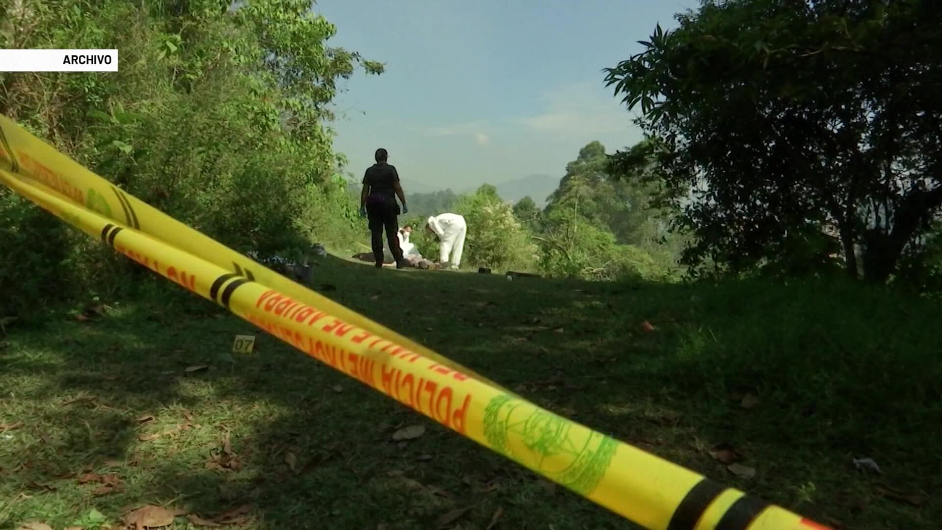 Cuatro personas muertas tras rompimiento sentimental en Dabeiba