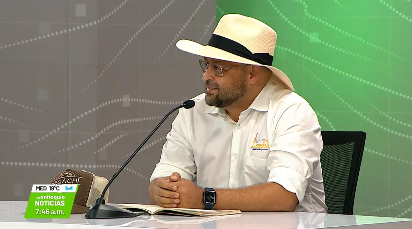 Entrevista con Deison Ulilo Acevedo, alcalde de Vegachí