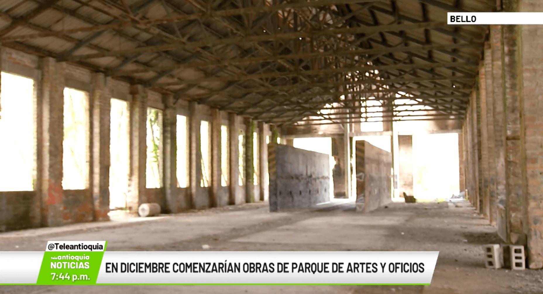 En diciembre comenzarán obras de Parques de Artes y Oficios