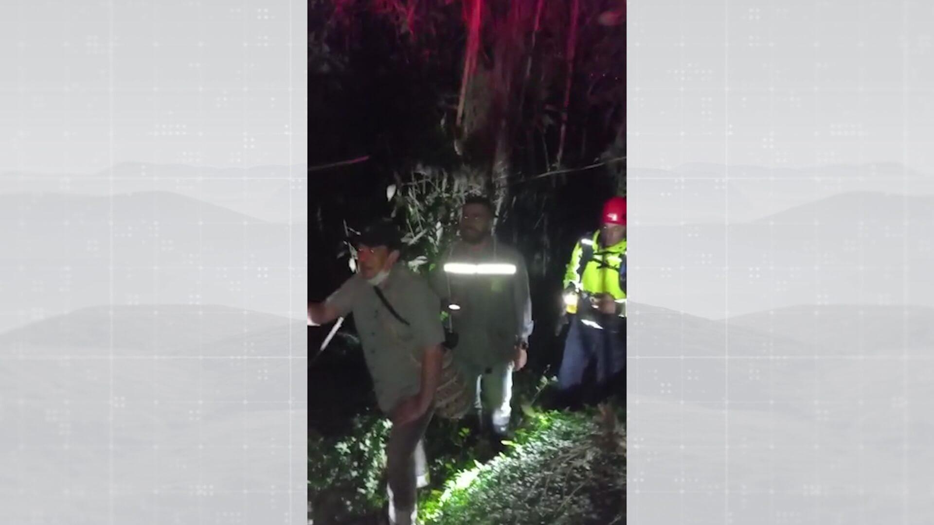 Encuentran 5 funcionarios extraviados en reserva natural